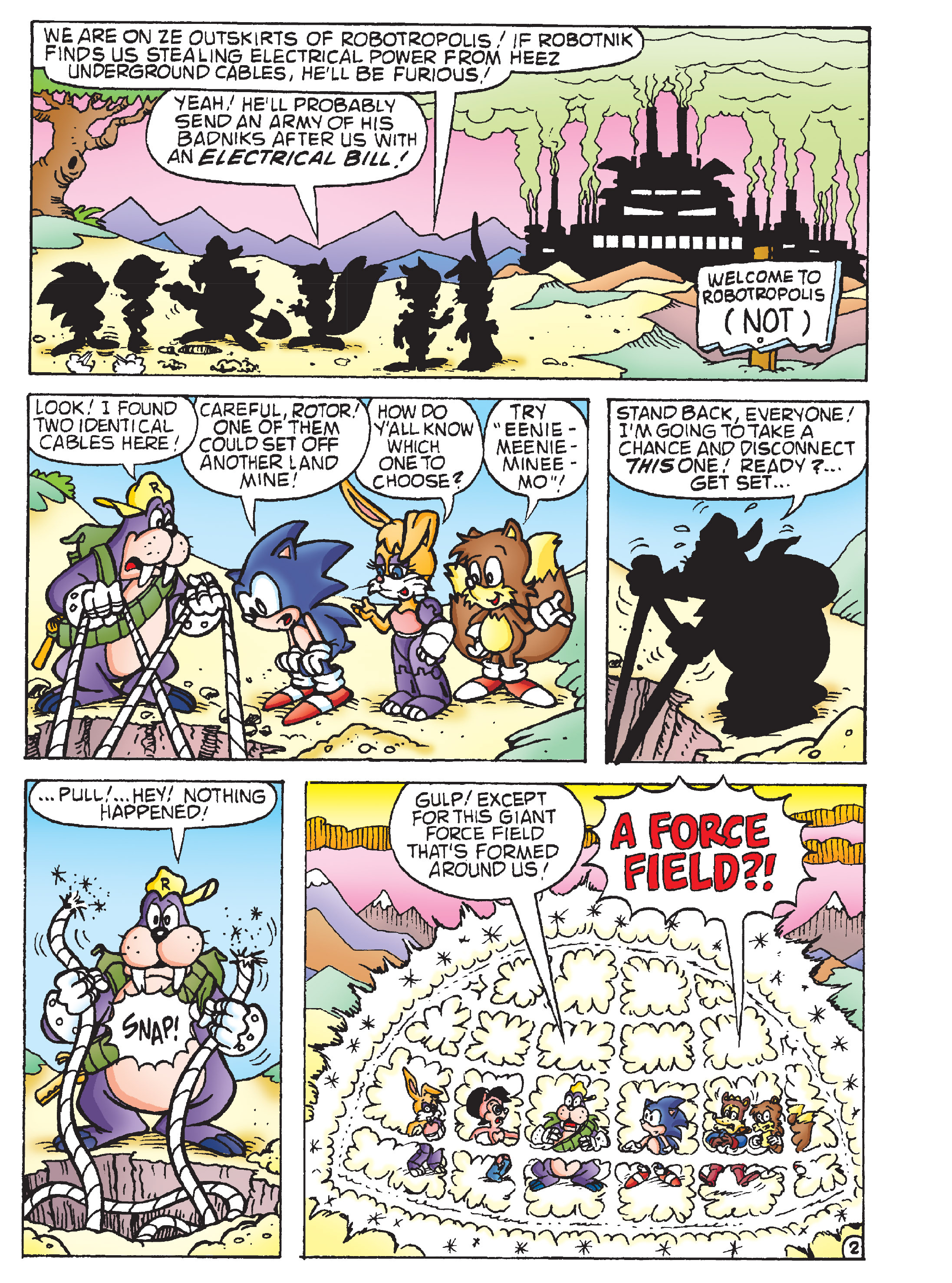Read online Sonic Super Digest comic -  Issue #7 - 69