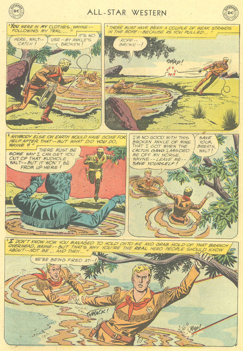 Read online All-Star Western (1951) comic -  Issue #101 - 6