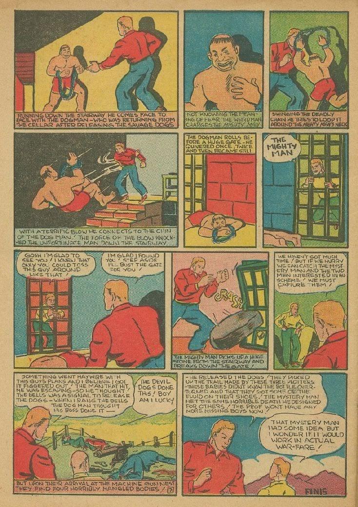 Read online Amazing Man Comics comic -  Issue #9 - 59