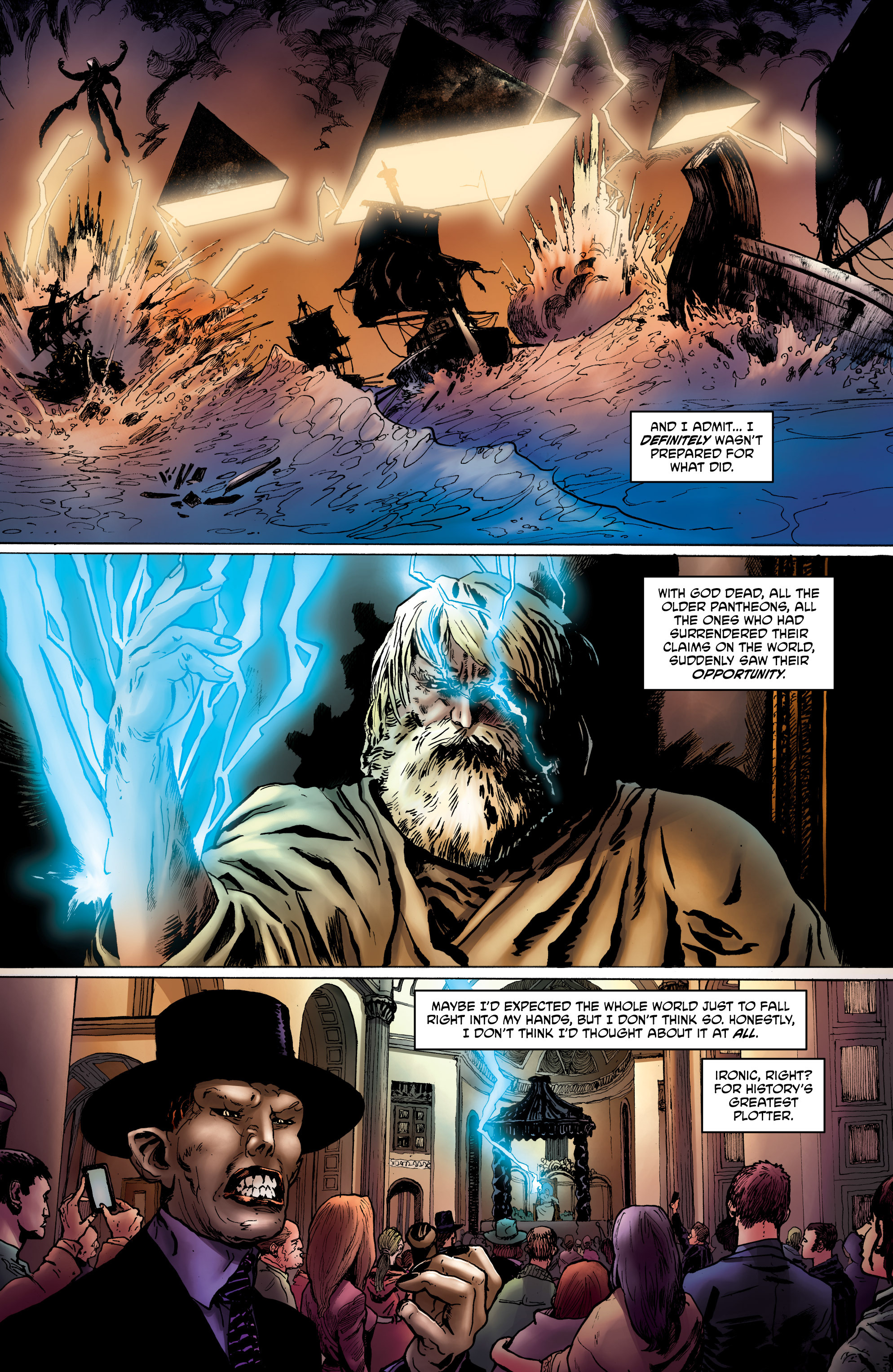 Read online God is Dead: Book of Acts comic -  Issue # Omega - 19