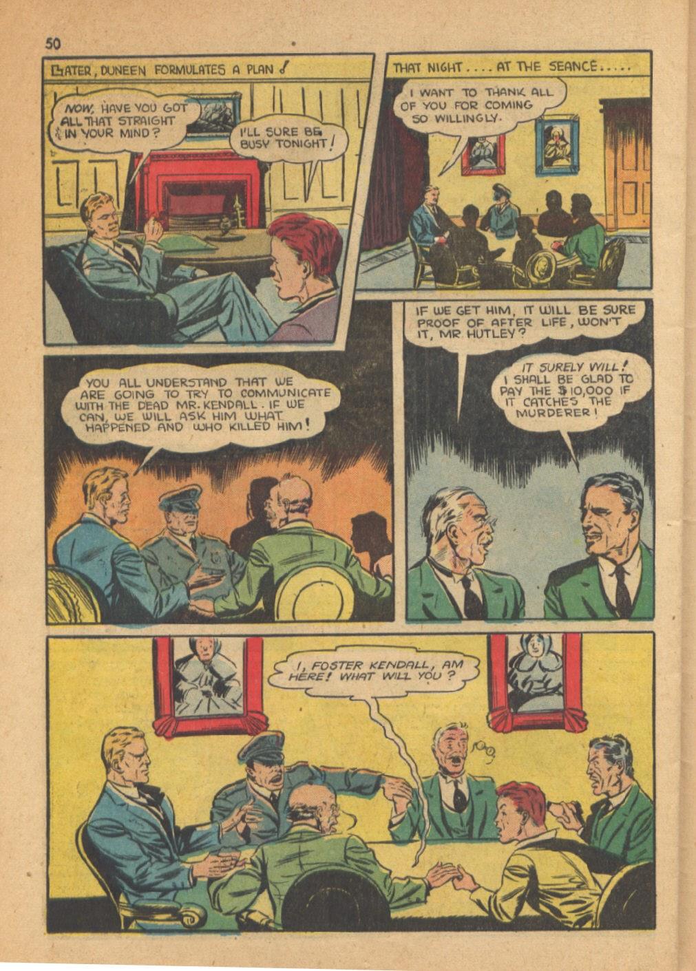 Read online Super-Magician Comics comic -  Issue #13 - 50