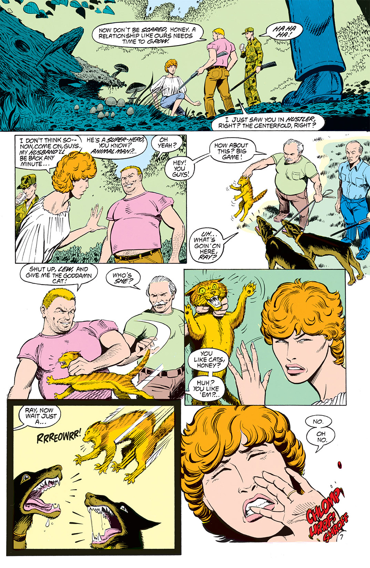 Read online Animal Man (1988) comic -  Issue #3 - 9