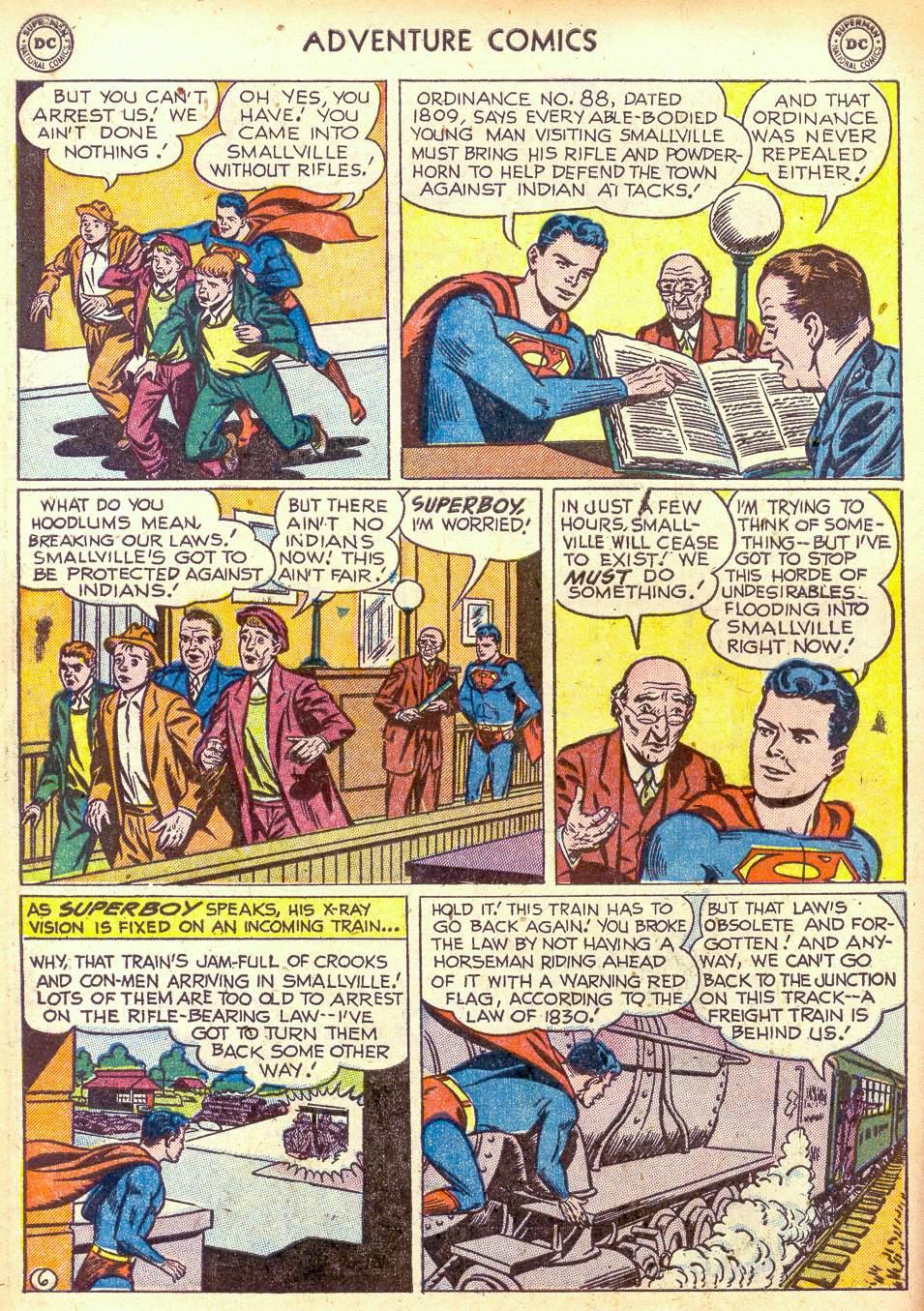 Read online Adventure Comics (1938) comic -  Issue #172 - 8