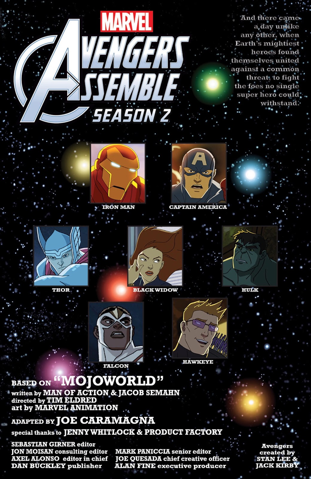 Read online Marvel Universe Avengers Assemble Season 2 comic -  Issue #5 - 2