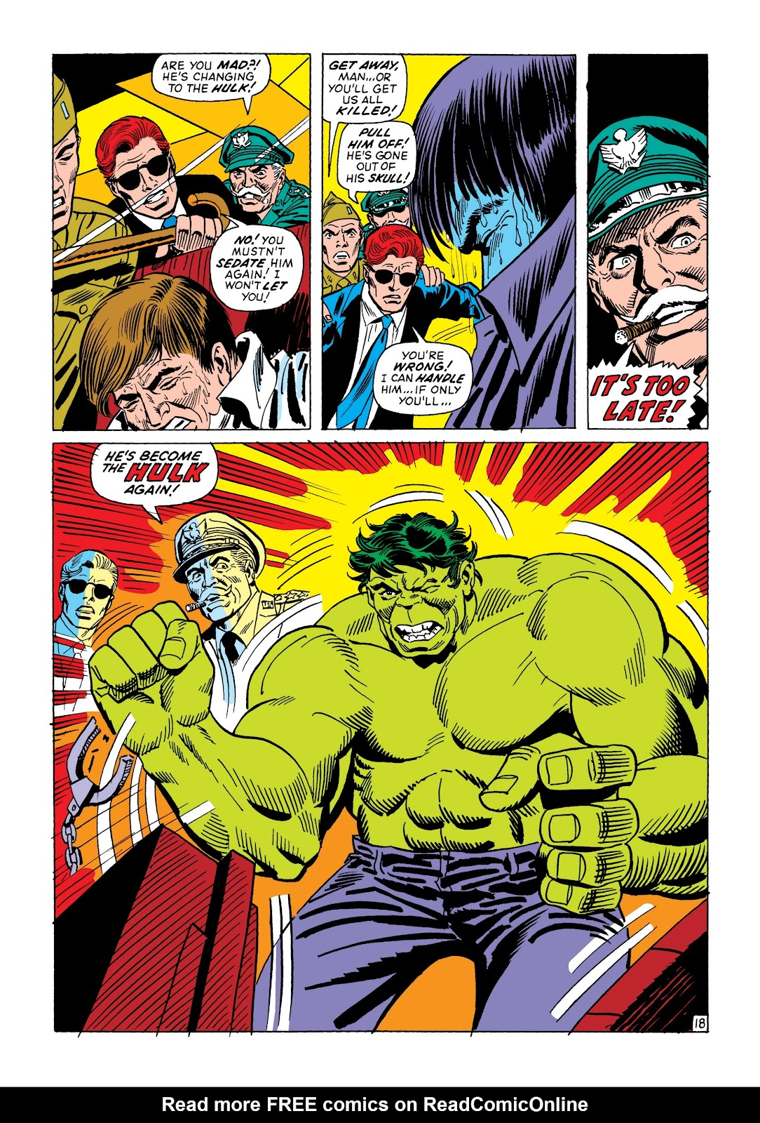 Read online Marvel Masterworks: The Incredible Hulk comic -  Issue # TPB 8 (Part 2) - 92