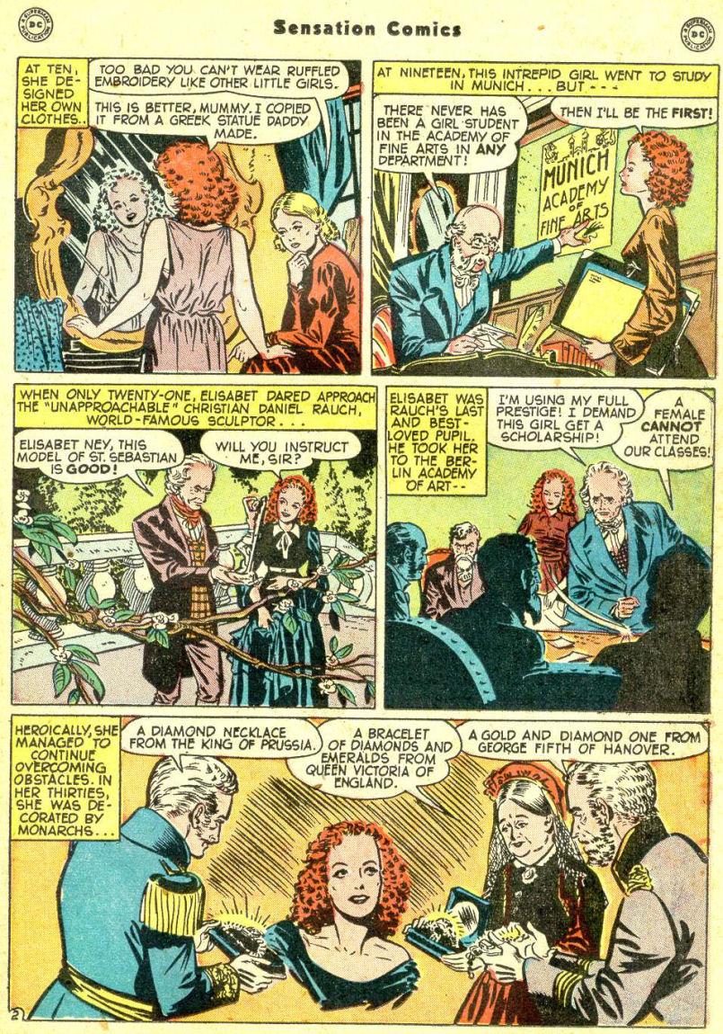 Read online Sensation (Mystery) Comics comic -  Issue #87 - 33