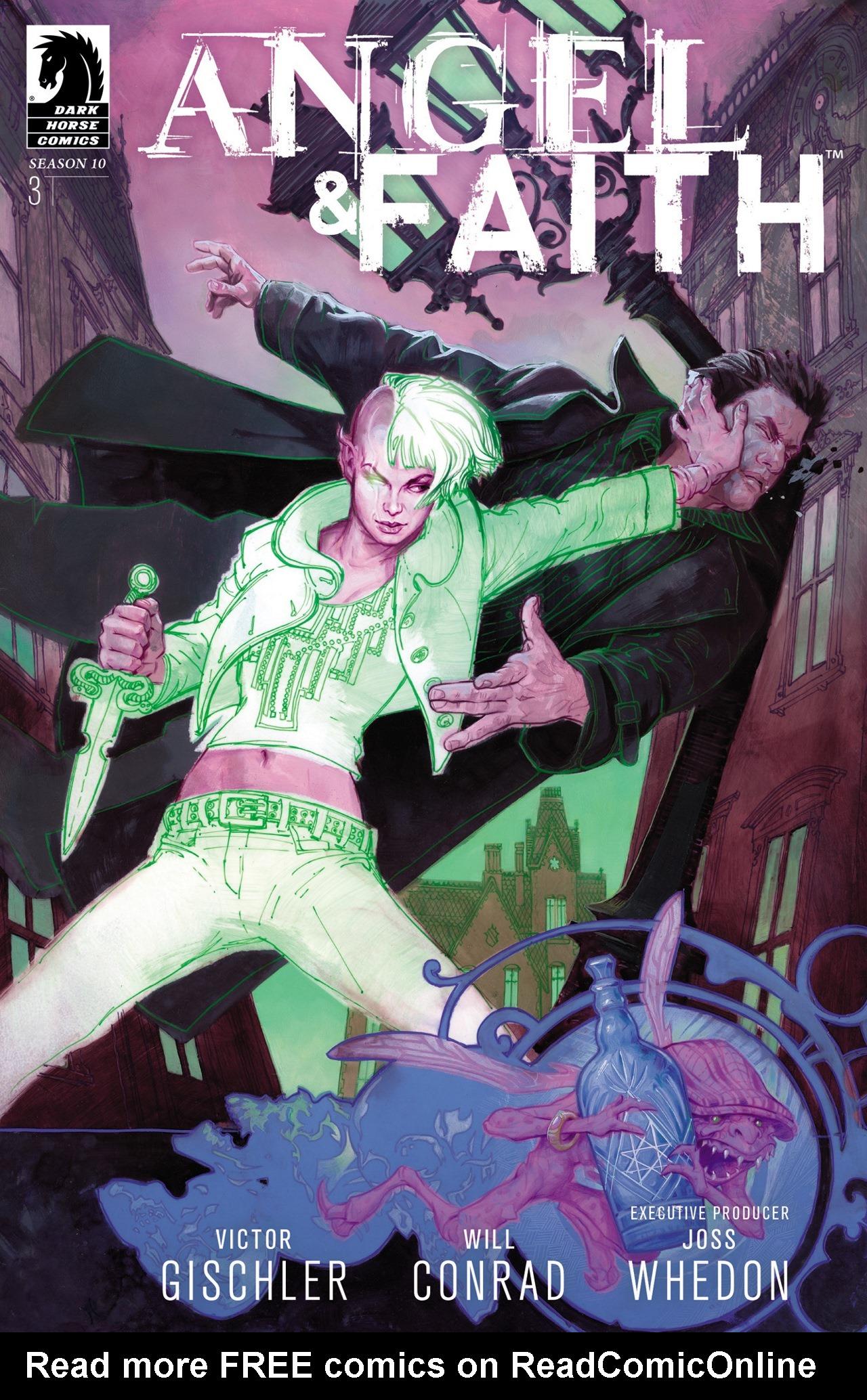 Read online Angel & Faith Season 10 comic -  Issue #3 - 1