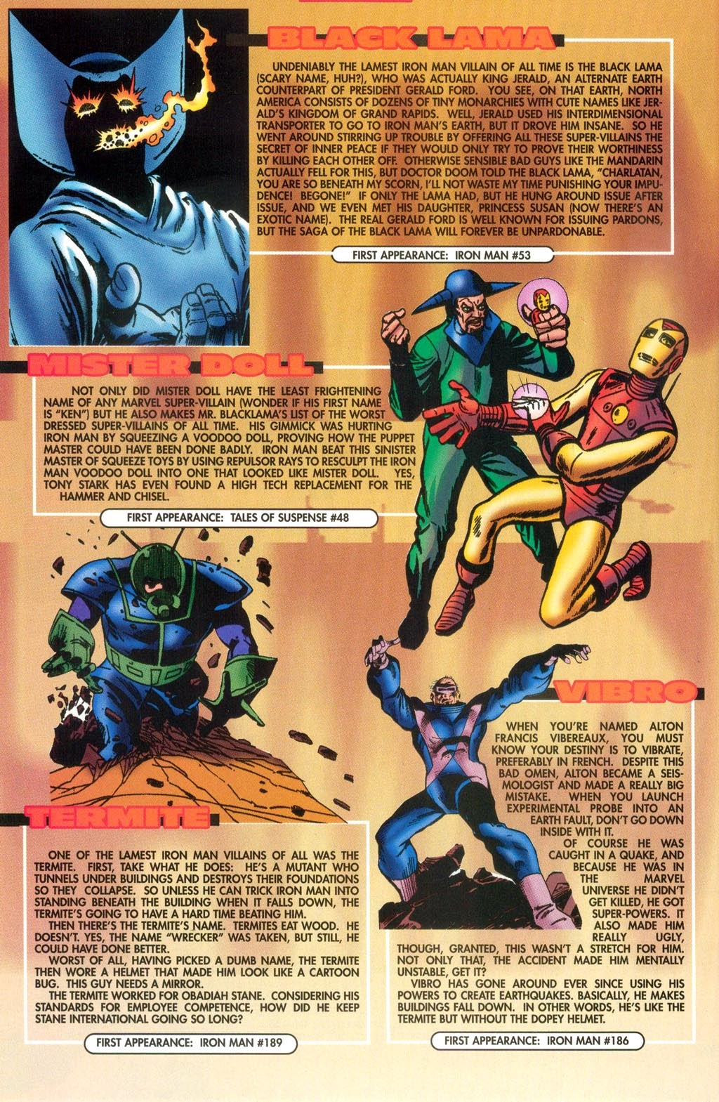 Read online Iron Man: The Legend comic -  Issue # Full - 35