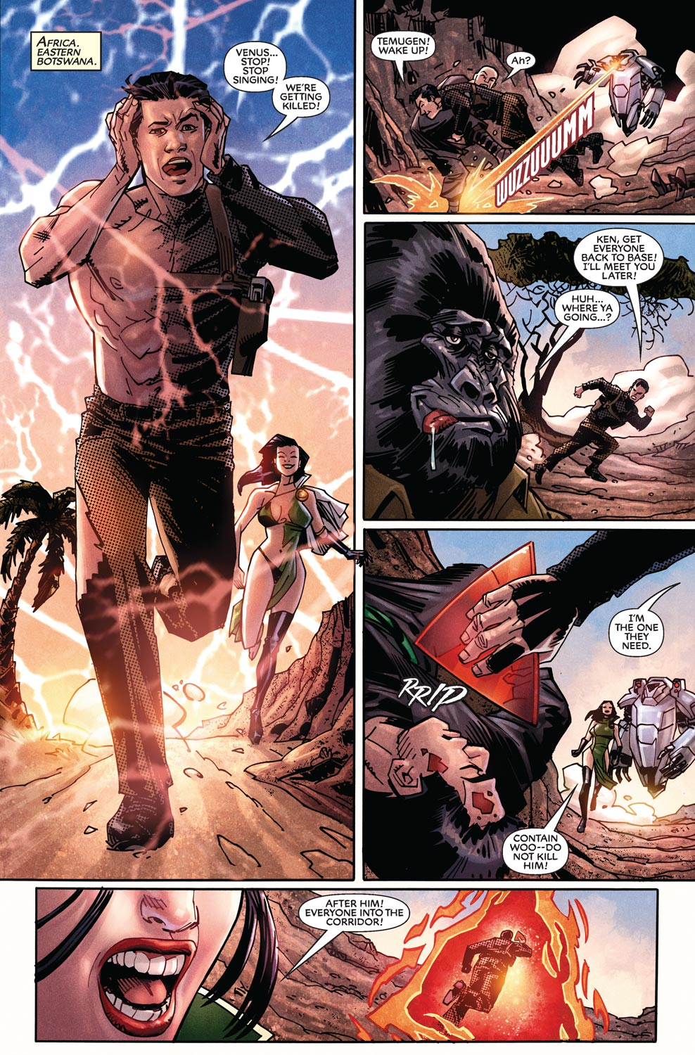 Read online Agents Of Atlas (2009) comic -  Issue #11 - 5
