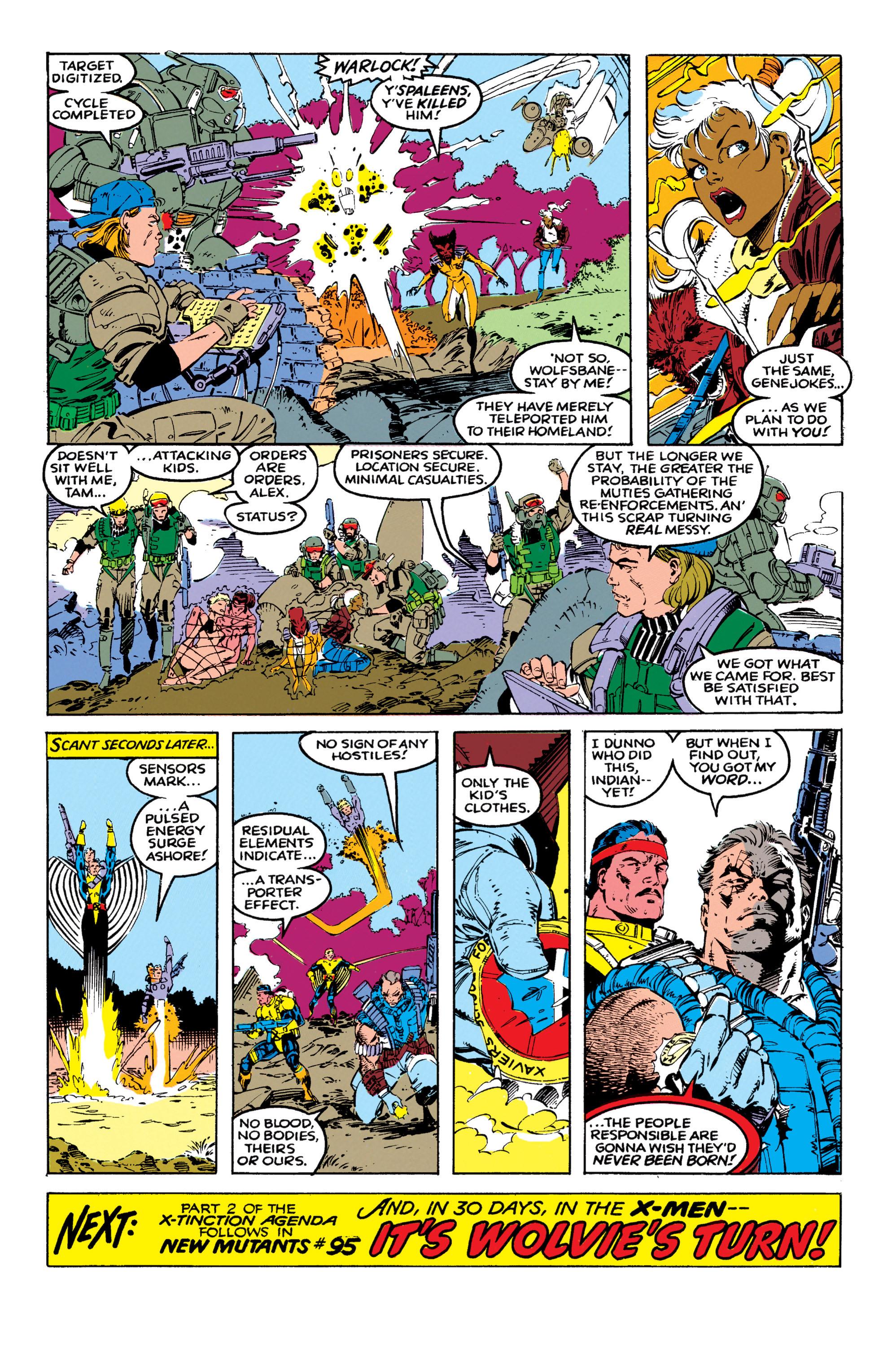 Read online Uncanny X-Men (1963) comic -  Issue #270 - 20