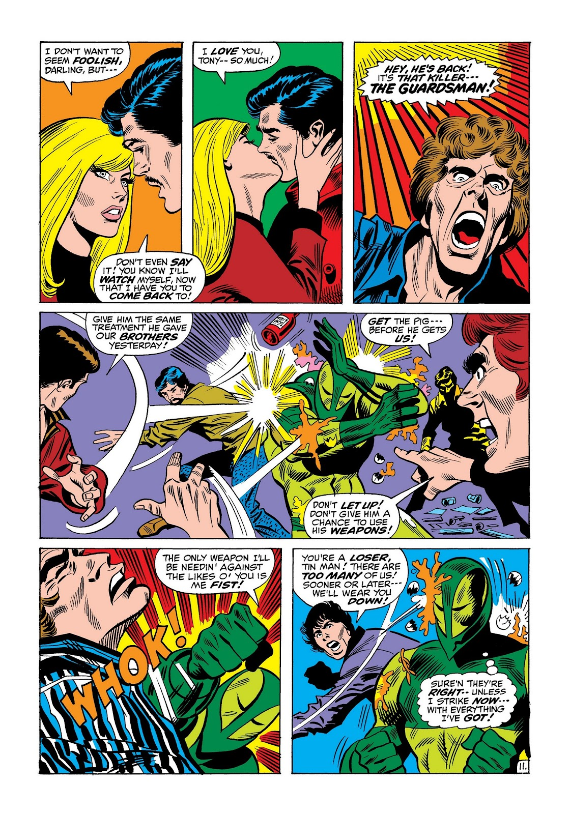 Read online Marvel Masterworks: The Invincible Iron Man comic -  Issue # TPB 8 (Part 2) - 55