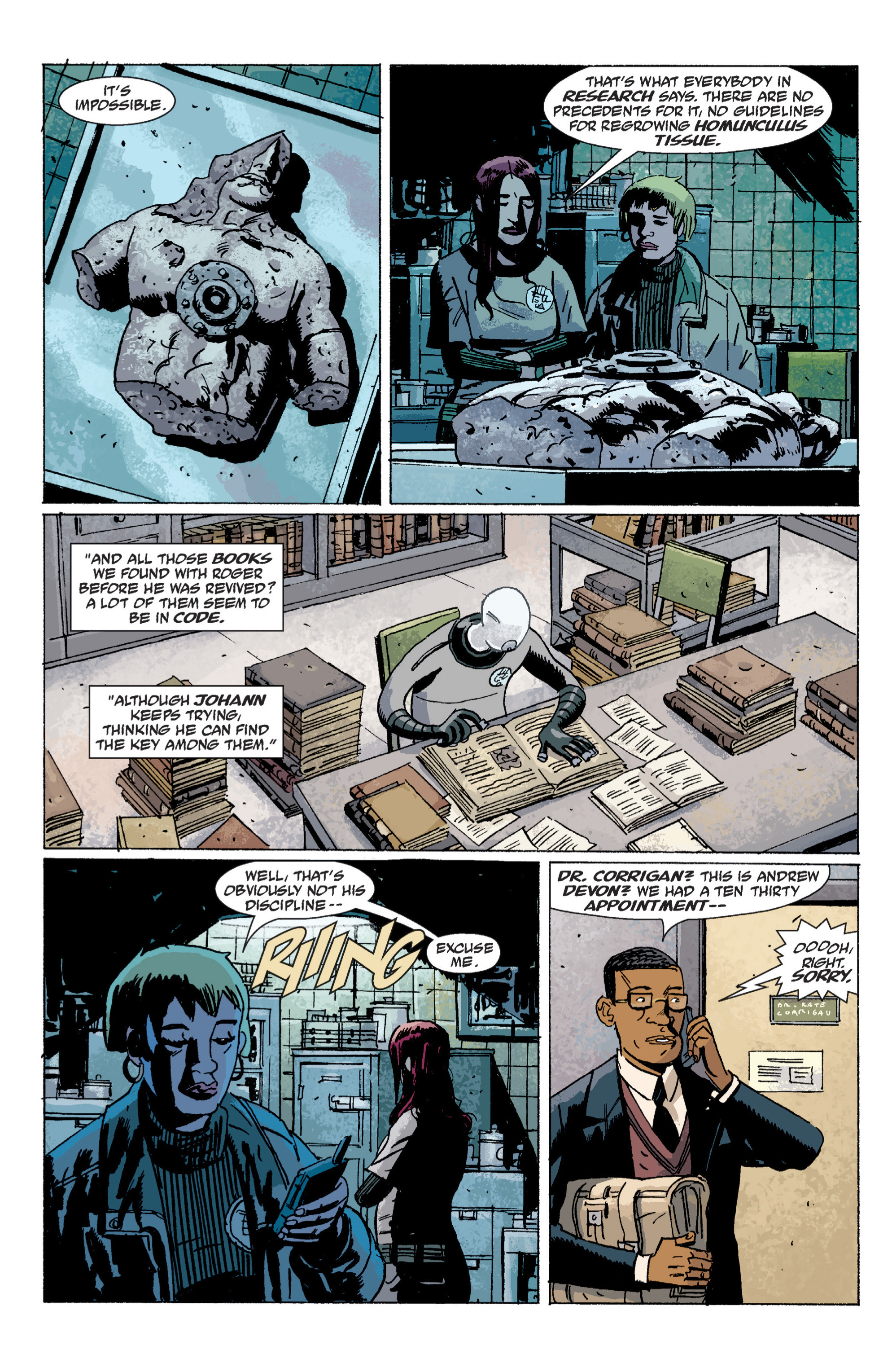Read online B.P.R.D. (2003) comic -  Issue # TPB 6 - 11
