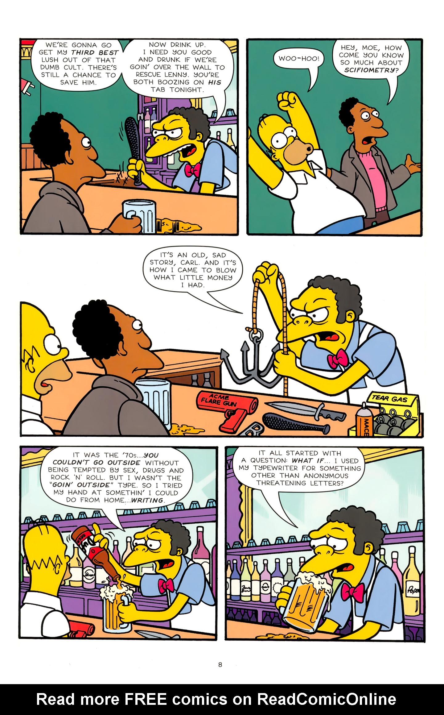 Read online Simpsons Comics comic -  Issue #179 - 8