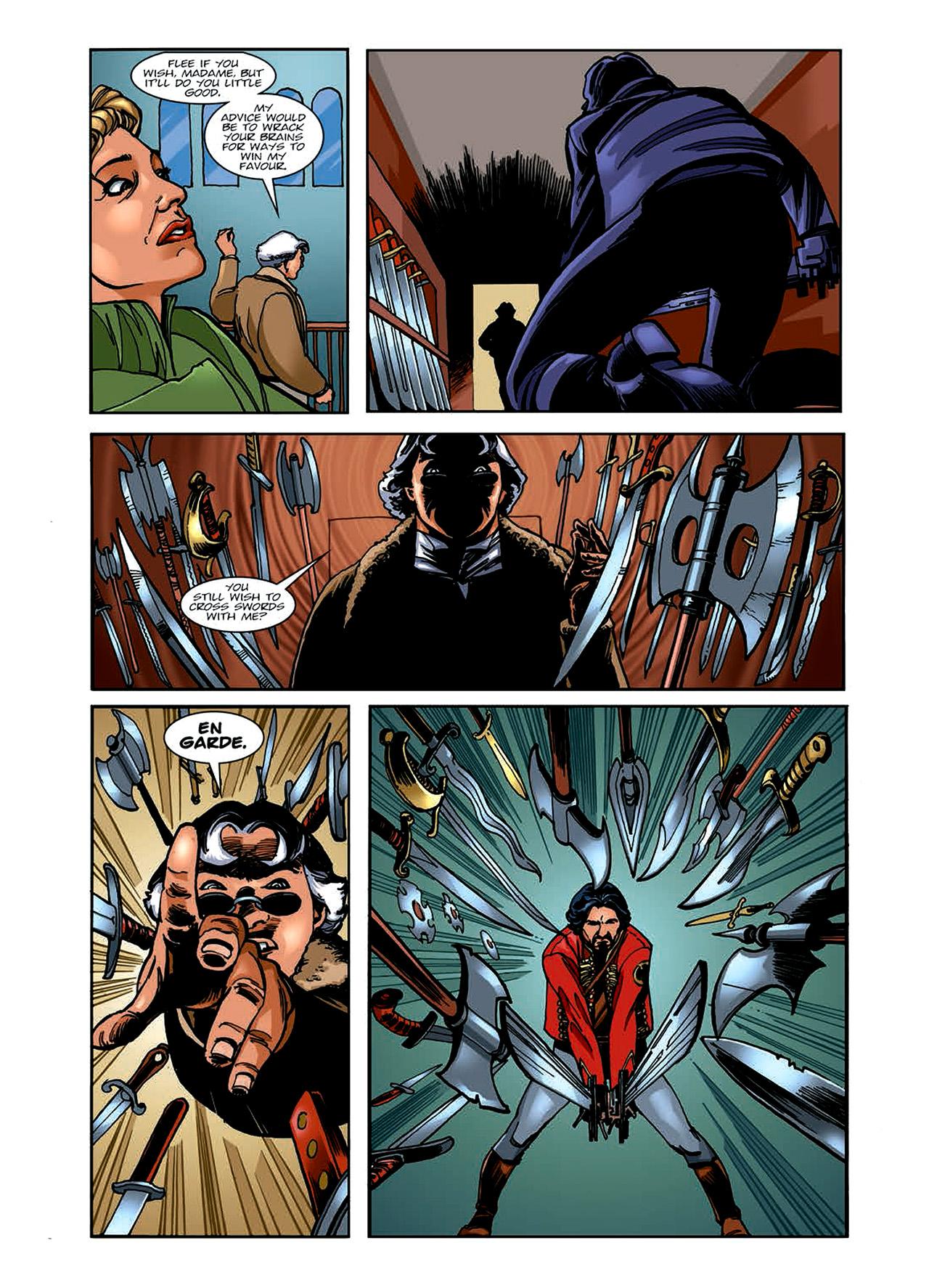 Read online Nikolai Dante comic -  Issue # TPB 6 - 72