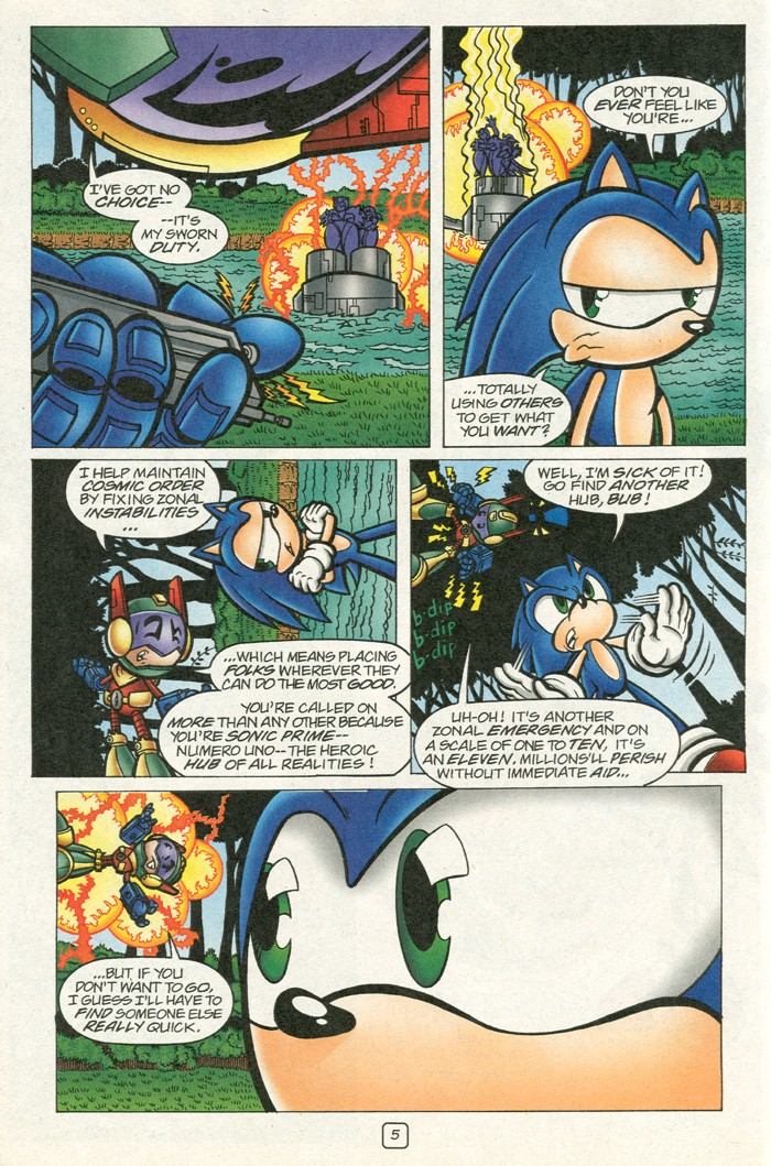 Read online Sonic Super Special comic -  Issue #12 - Sonic and Knuckles visa versa - 22