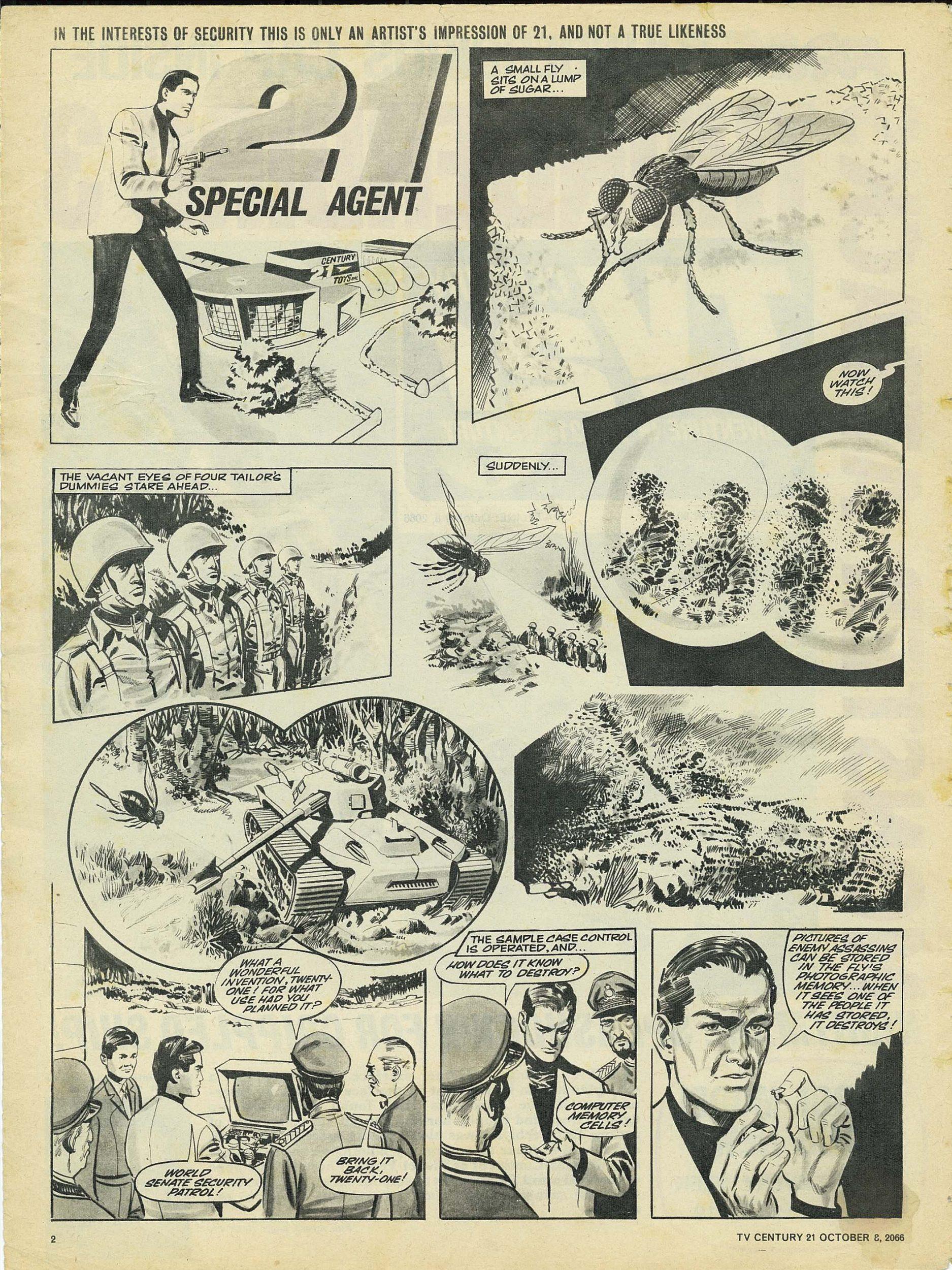 Read online TV Century 21 (TV 21) comic -  Issue #90 - 2