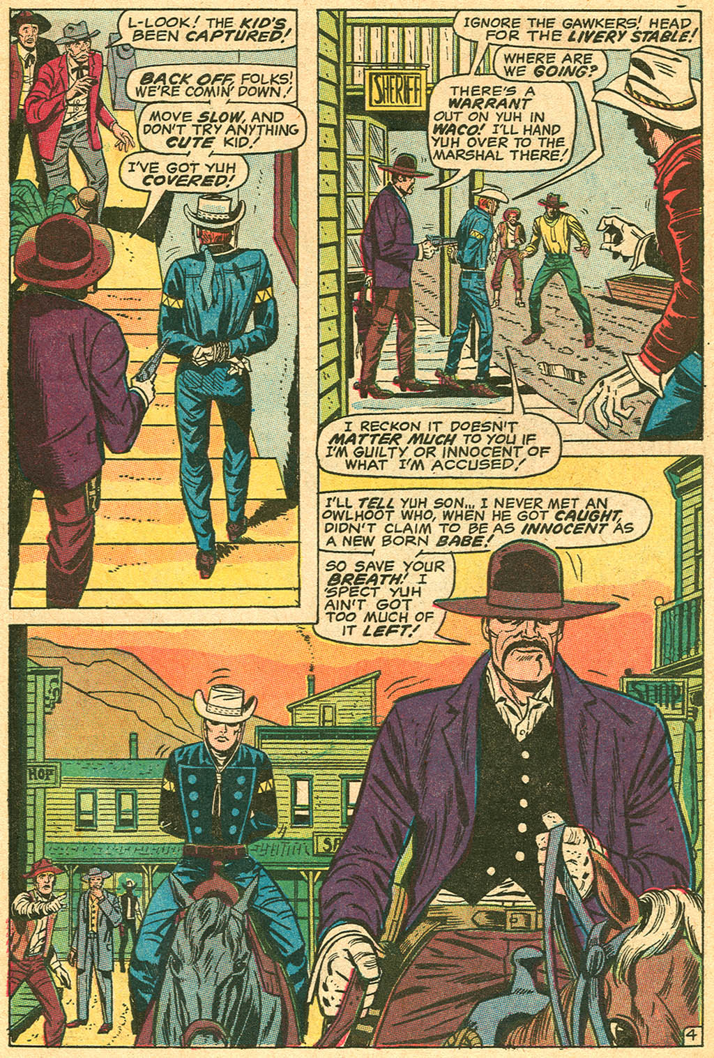 The Rawhide Kid (1955) issue 74 - Page 7