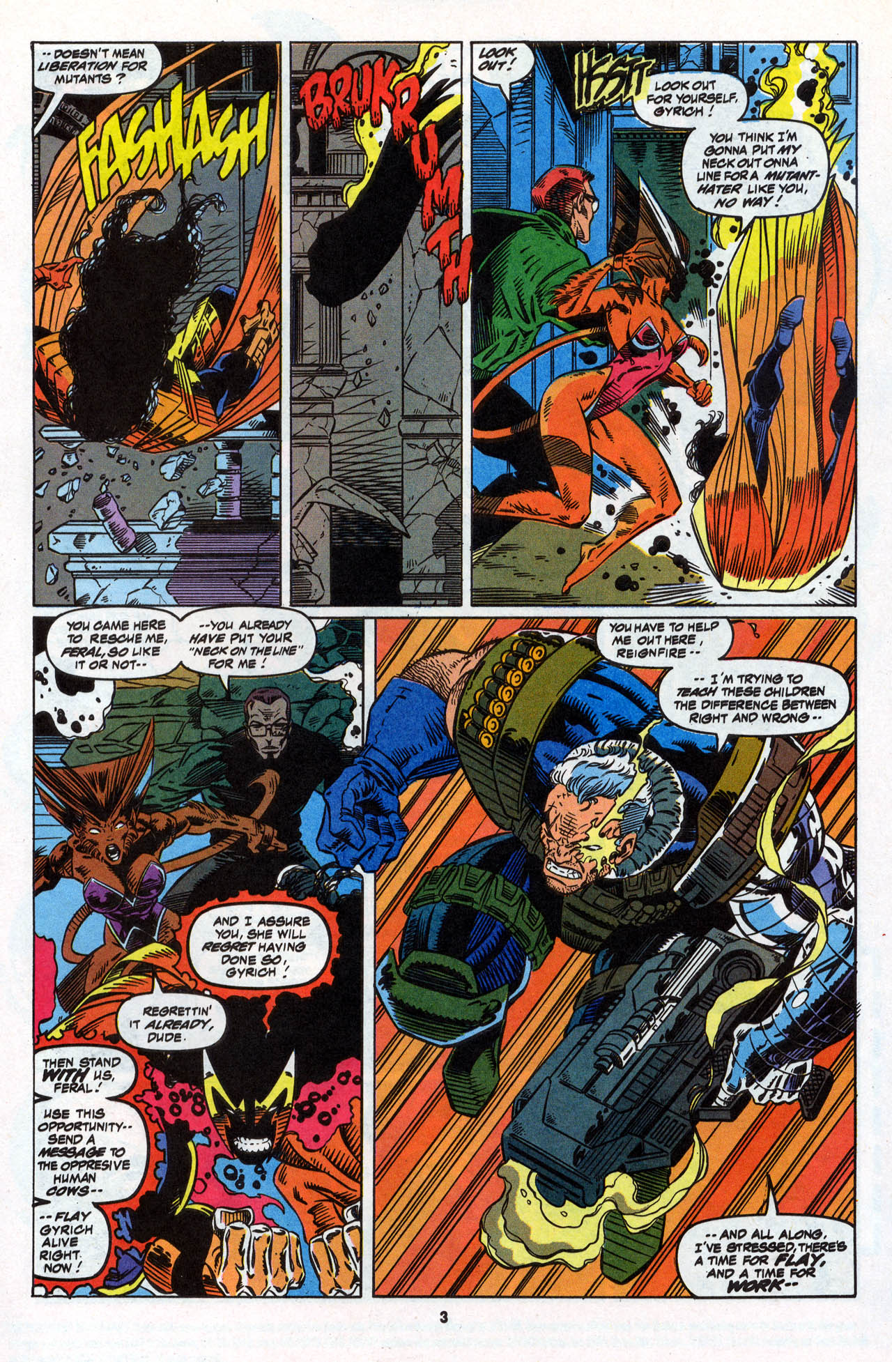 Read online X-Force (1991) comic -  Issue #28 - 5