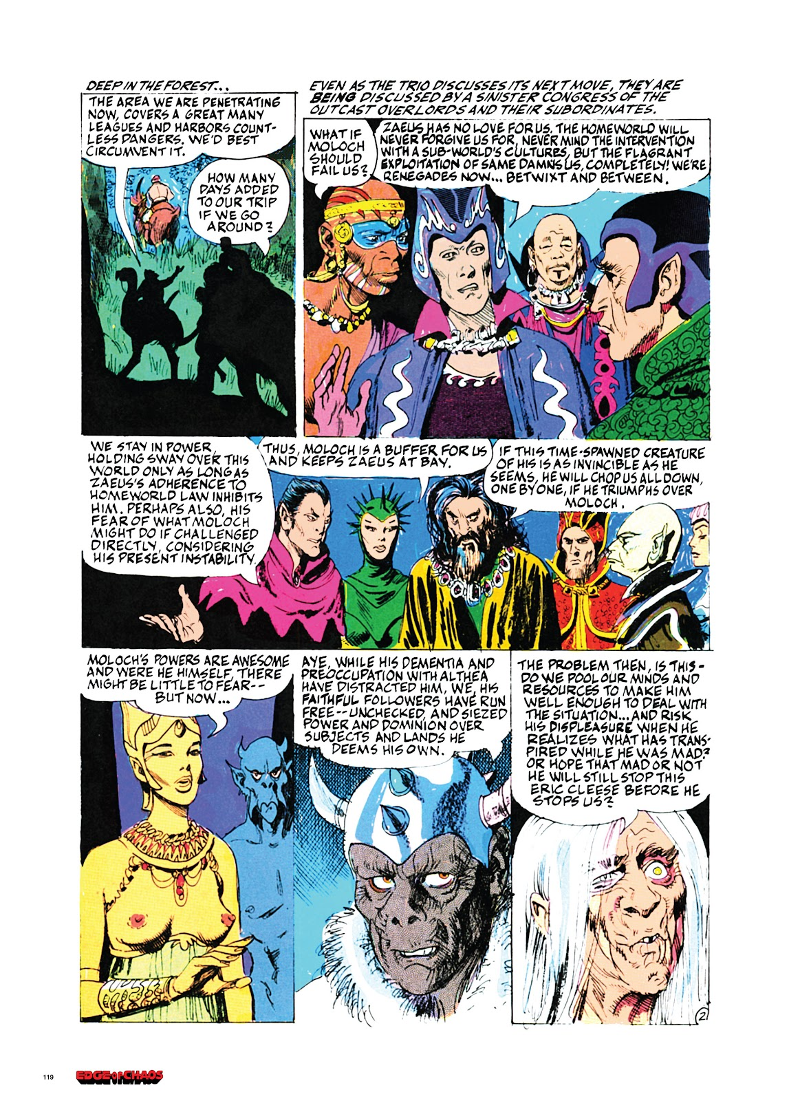 Read online Orion and Edge of Chaos comic -  Issue # TPB - 120