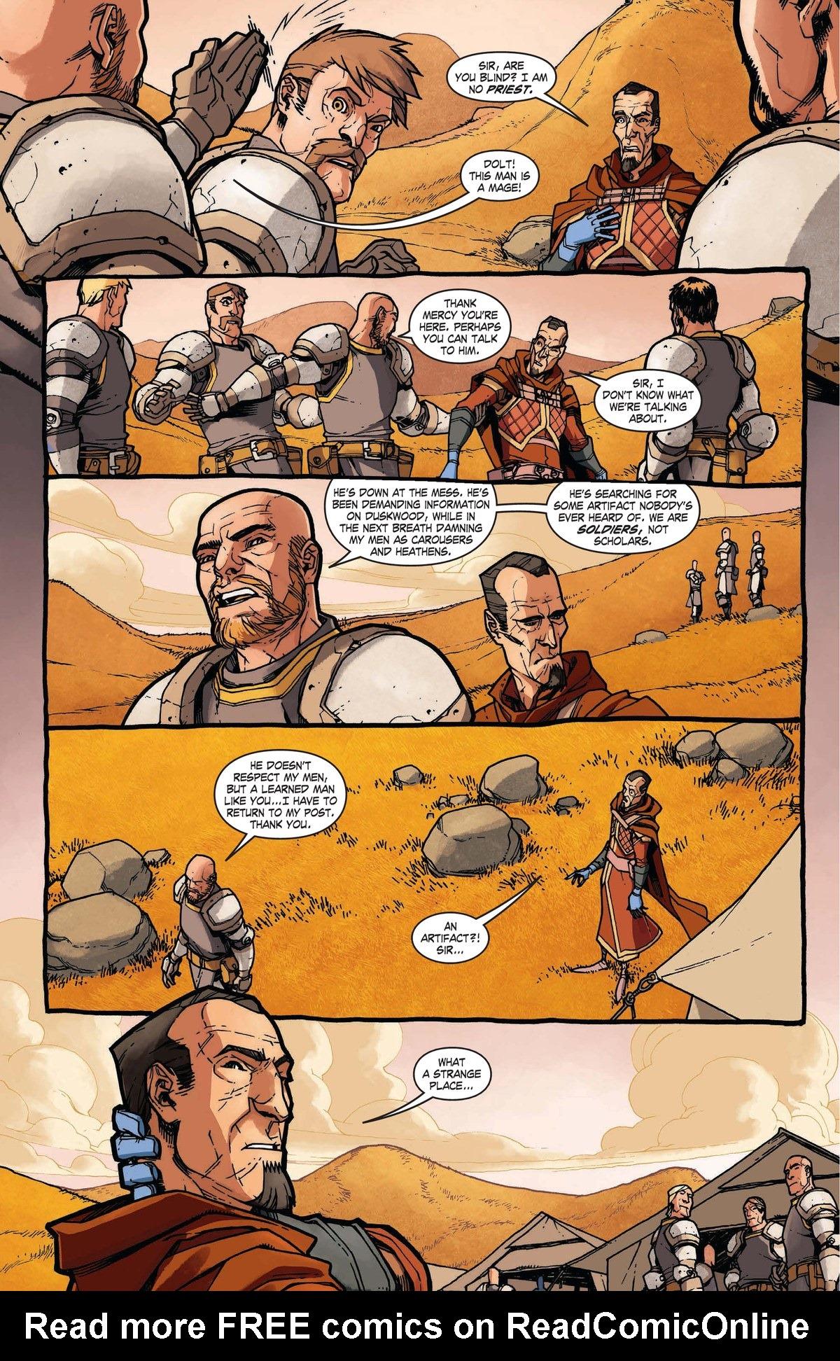 Read online World of Warcraft: Dark Riders comic -  Issue # Full - 23
