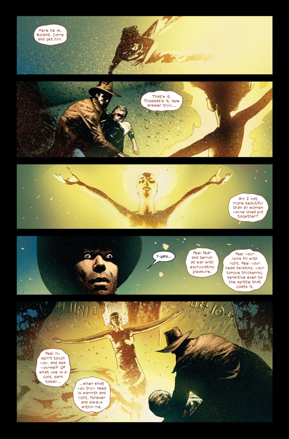Read online Dark Tower: The Gunslinger - The Way Station comic -  Issue #4 - 22