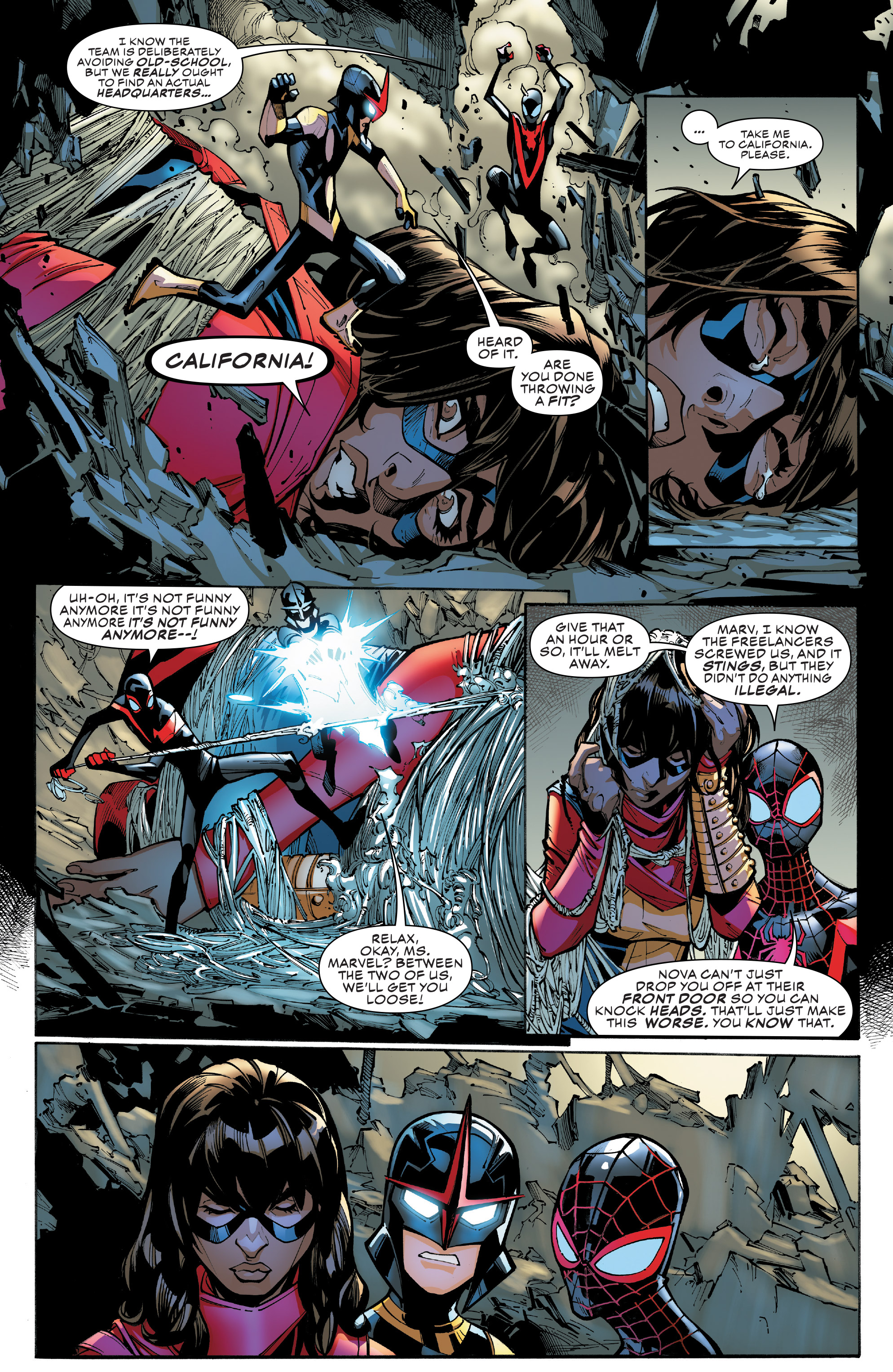Read online Champions (2016) comic -  Issue #8 - 6