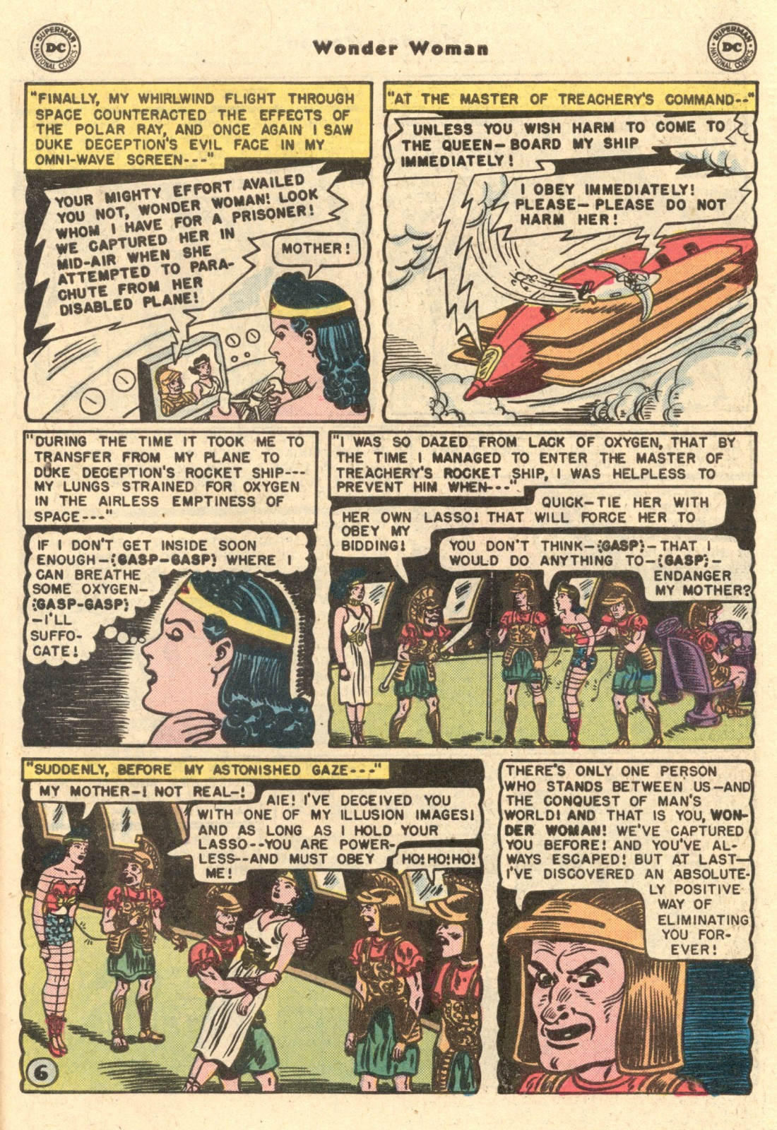 Read online Wonder Woman (1942) comic -  Issue #62 - 29