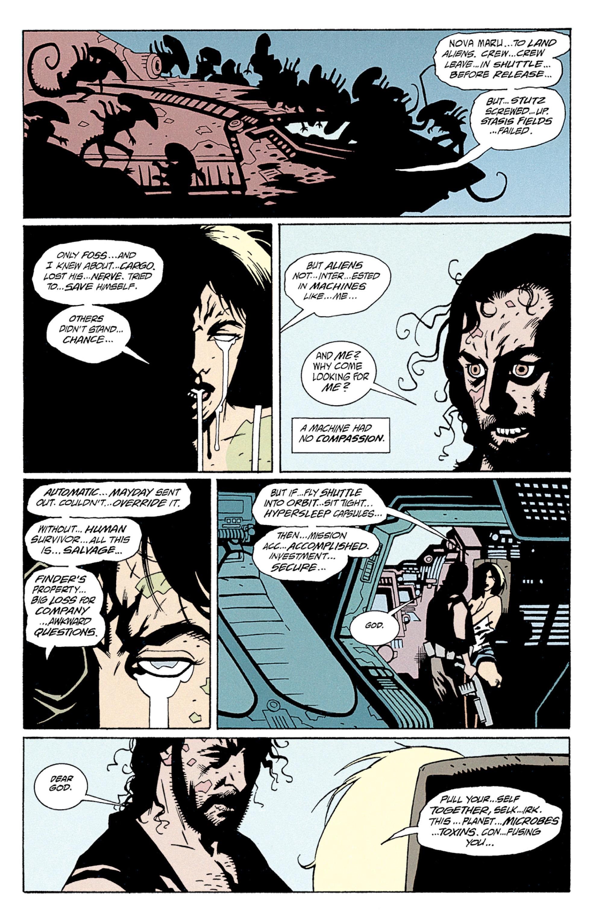 Read online Aliens: Salvation comic -  Issue # TPB - 46