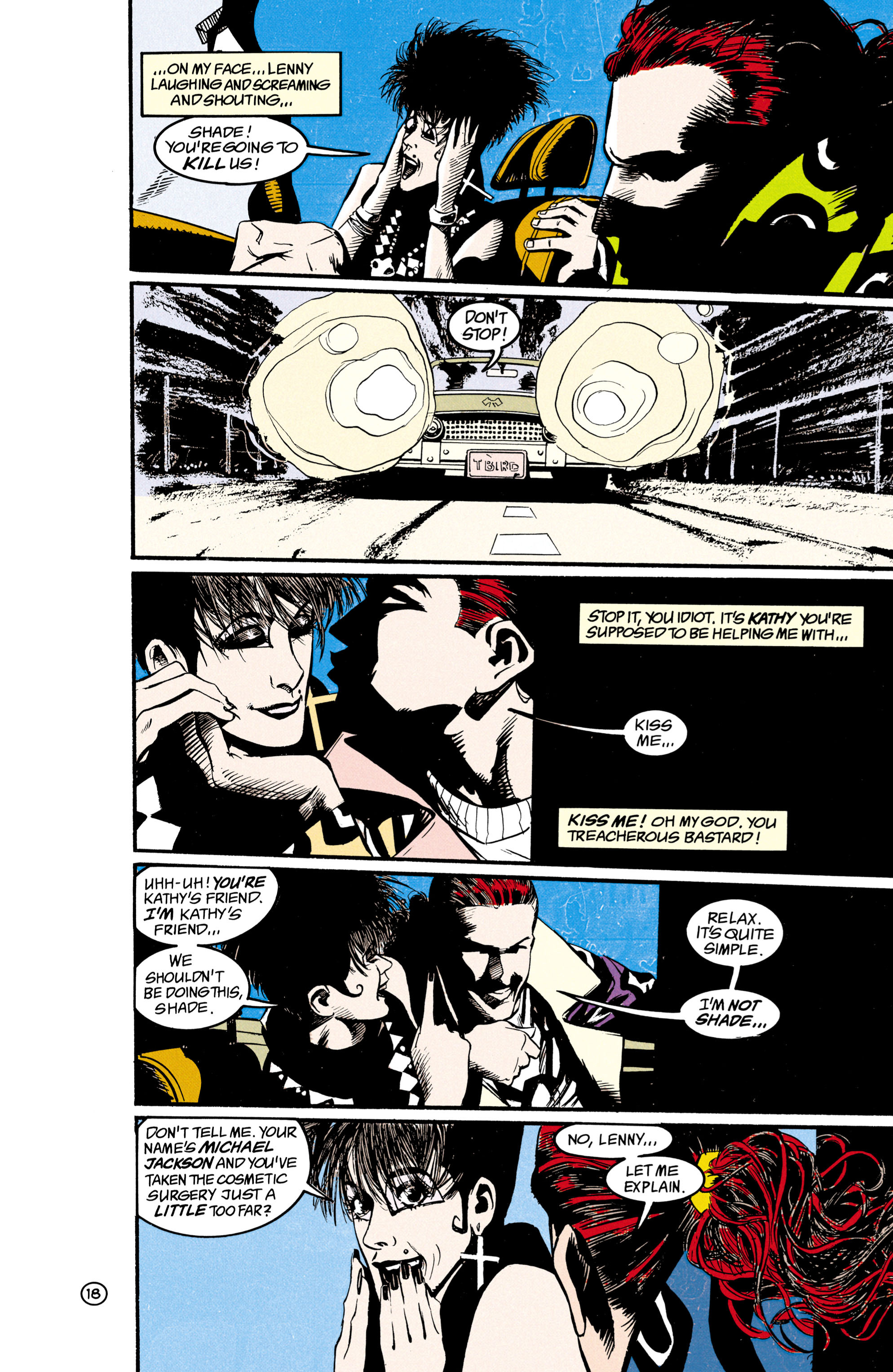 Read online Shade, the Changing Man comic -  Issue #21 - 19
