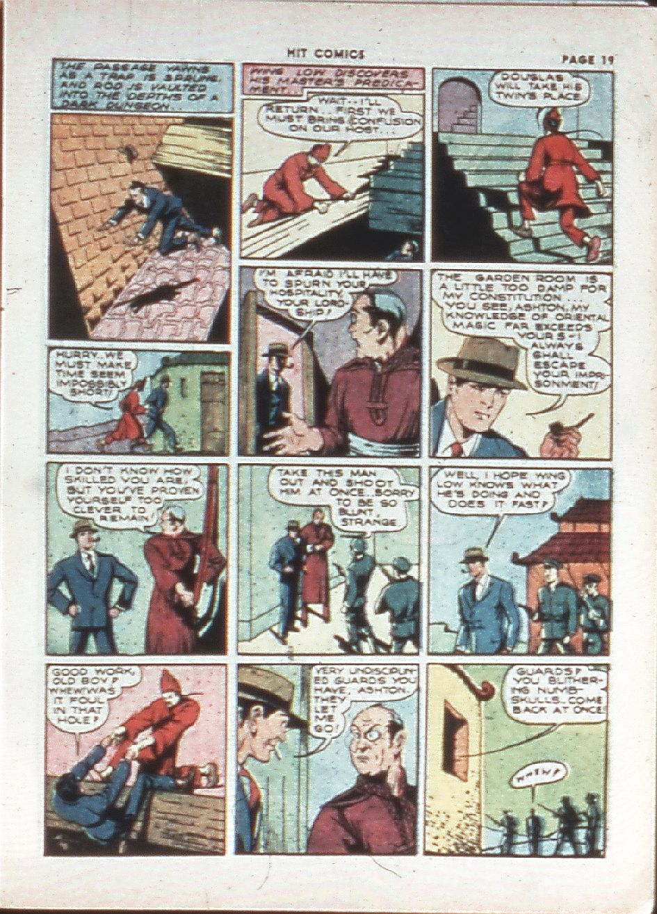 Read online Hit Comics comic -  Issue #10 - 21