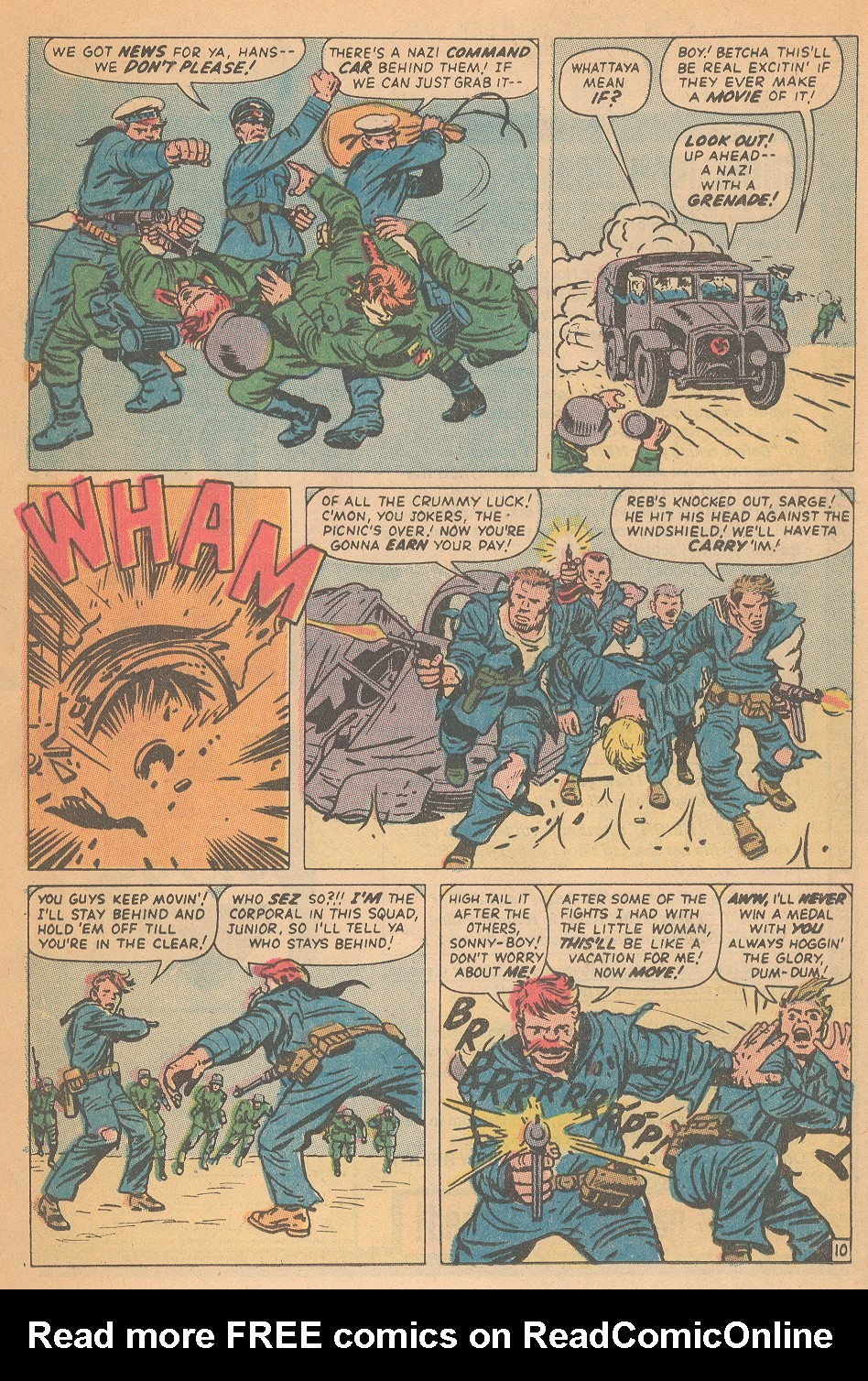 Read online Sgt. Fury comic -  Issue #95 - 16