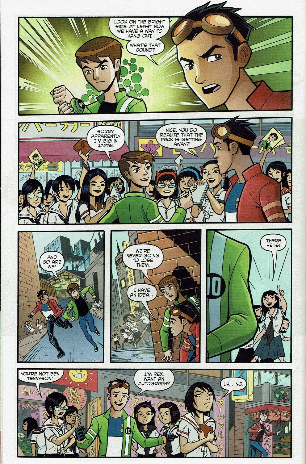 Read online Cartoon Network Action Pack comic -  Issue #65 - 14