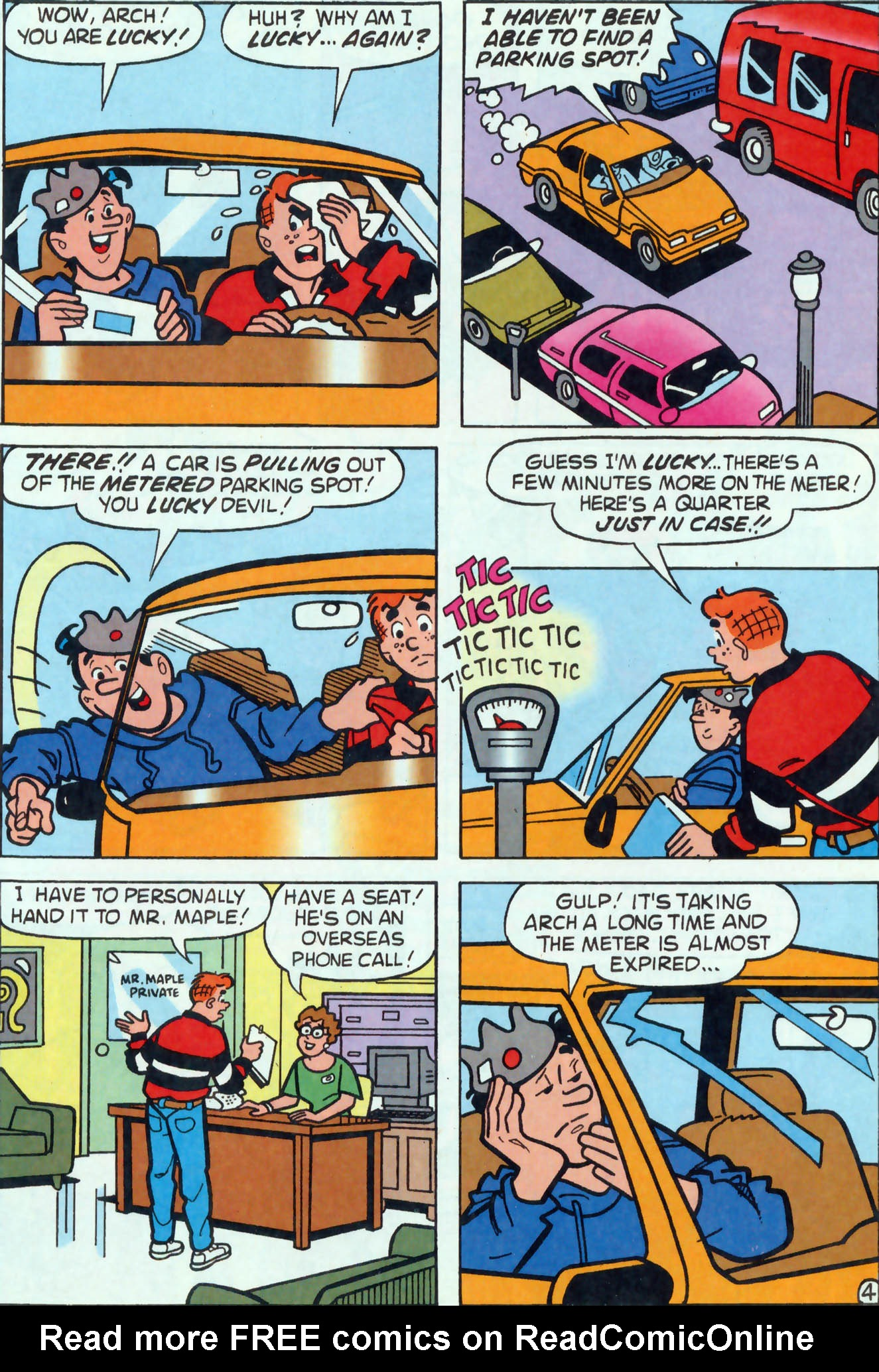Read online Archie (1960) comic -  Issue #455 - 10
