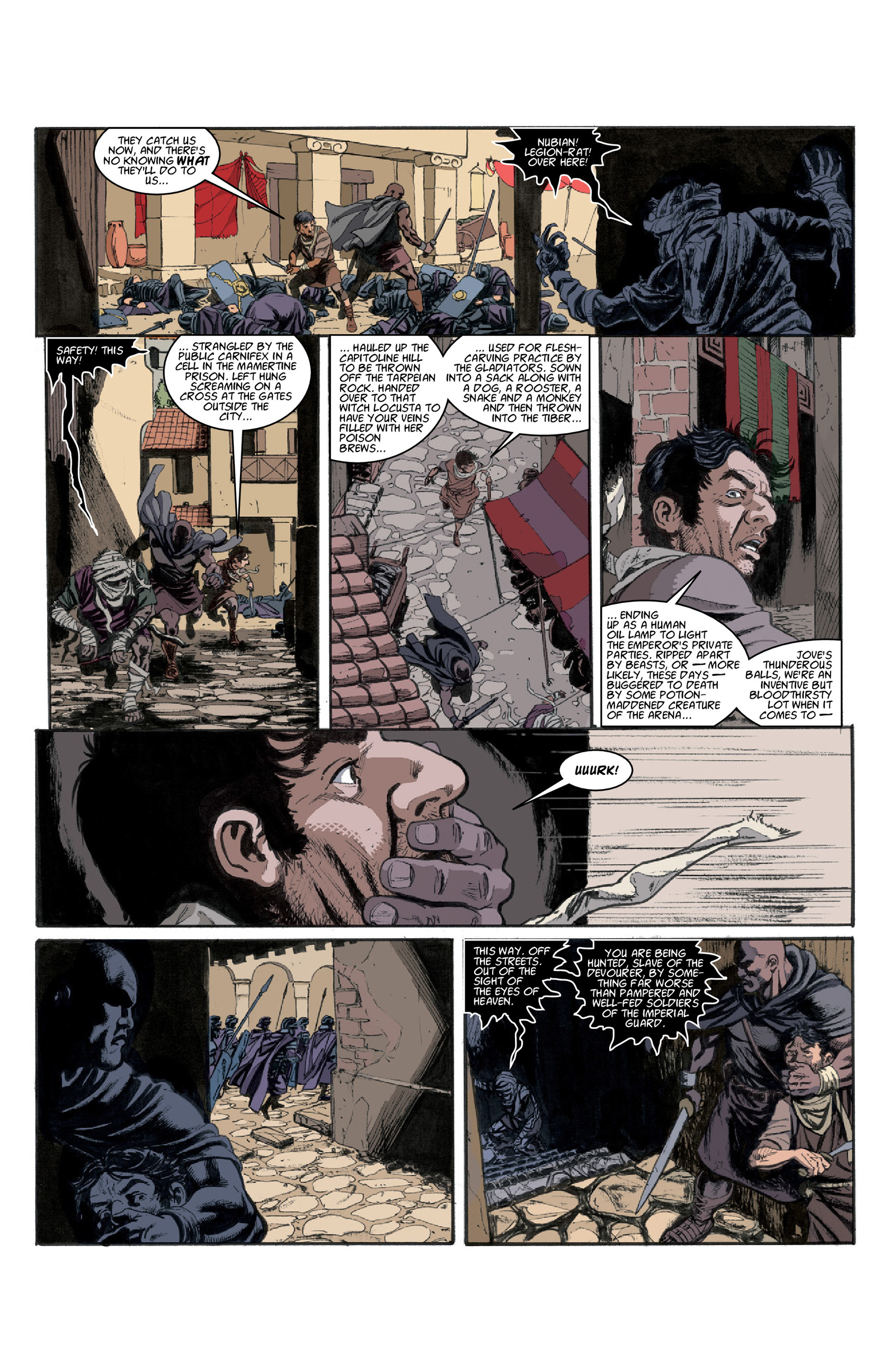 Read online Aquila comic -  Issue #3 - 9