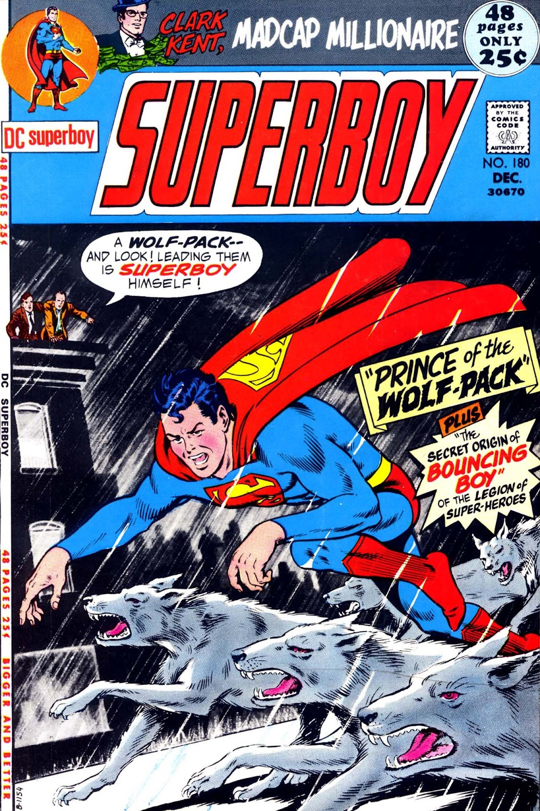 Superboy (1949) issue 180 - Page 1