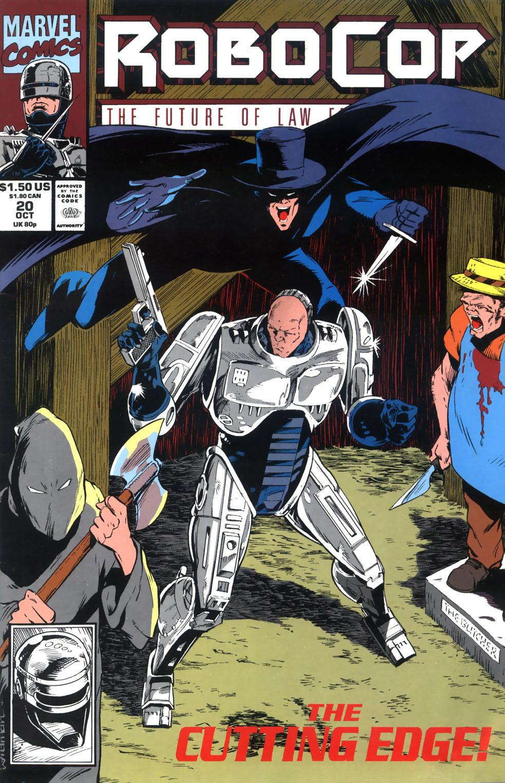 Read online Robocop (1990) comic -  Issue #20 - 1