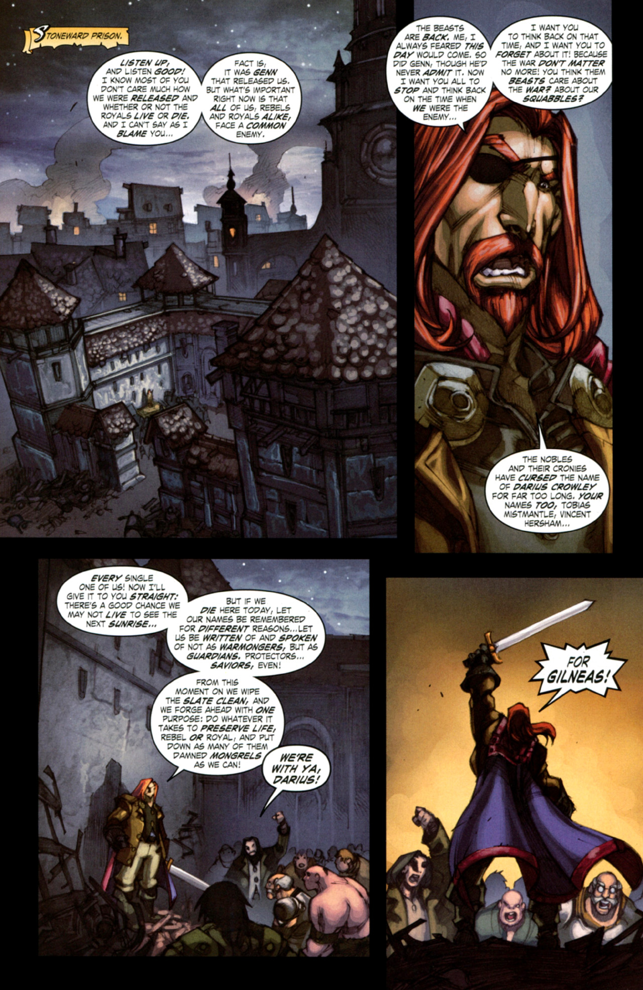 Read online World of Warcraft: Curse of the Worgen comic -  Issue #4 - 12