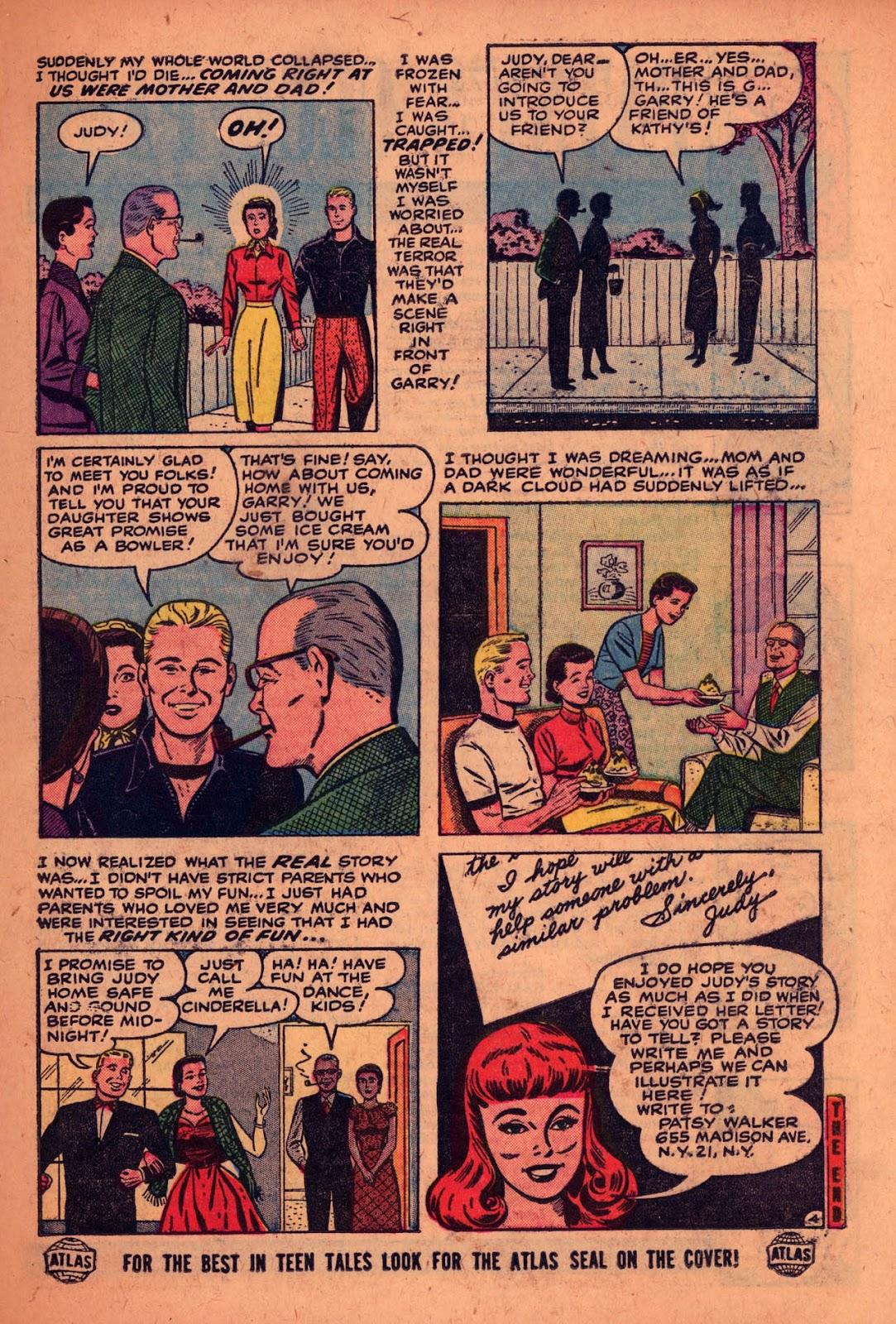 Comic Patsy Walker issue 55