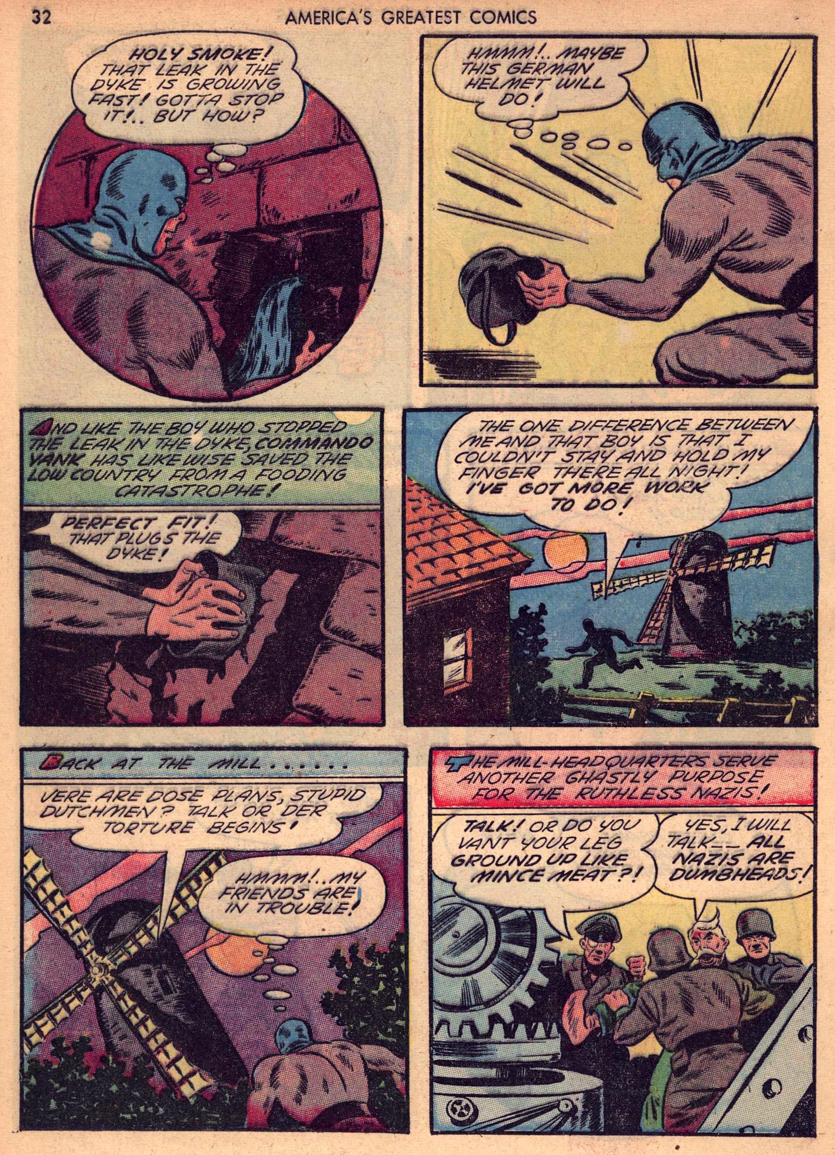 Read online America's Greatest Comics comic -  Issue #7 - 31