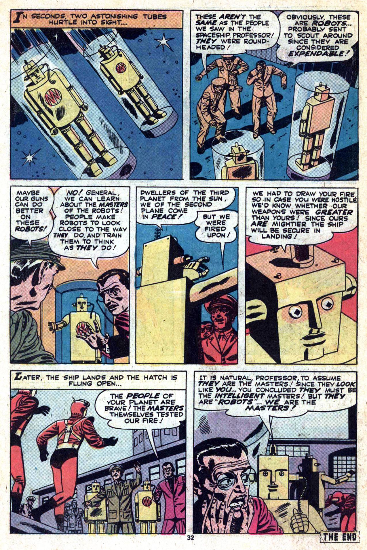 Read online Amazing Adventures (1970) comic -  Issue #27 - 33