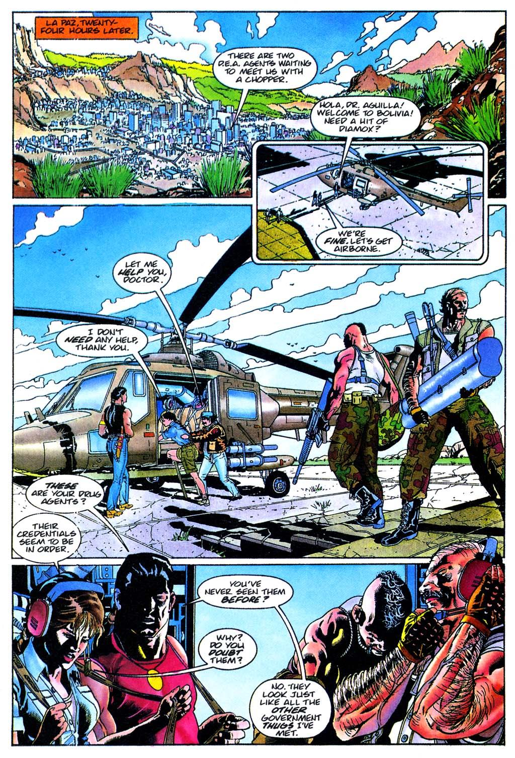 Read online Turok, Dinosaur Hunter (1993) comic -  Issue #28 - 5