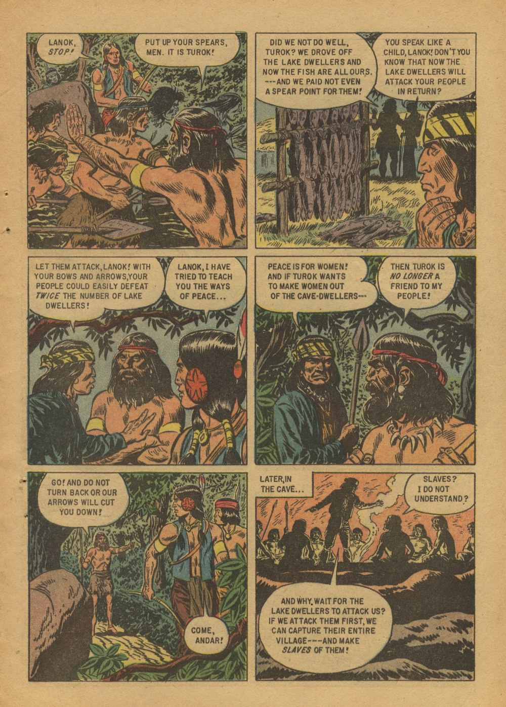 Read online Turok, Son of Stone comic -  Issue #12 - 9