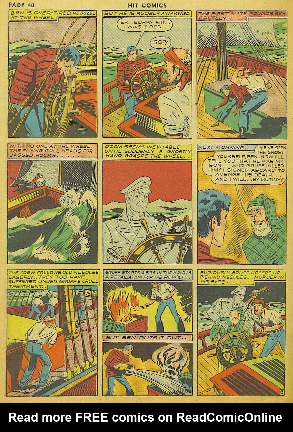 Read online Hit Comics comic -  Issue #13 - 42