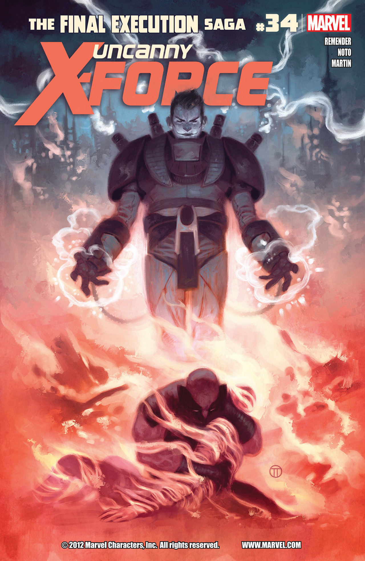 Read online Uncanny X-Force (2010) comic -  Issue #34 - 1
