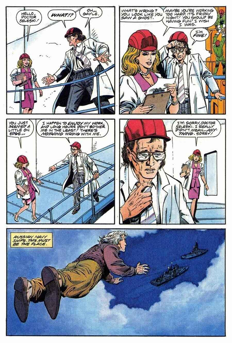 Read online Solar, Man of the Atom comic -  Issue #1 - 11