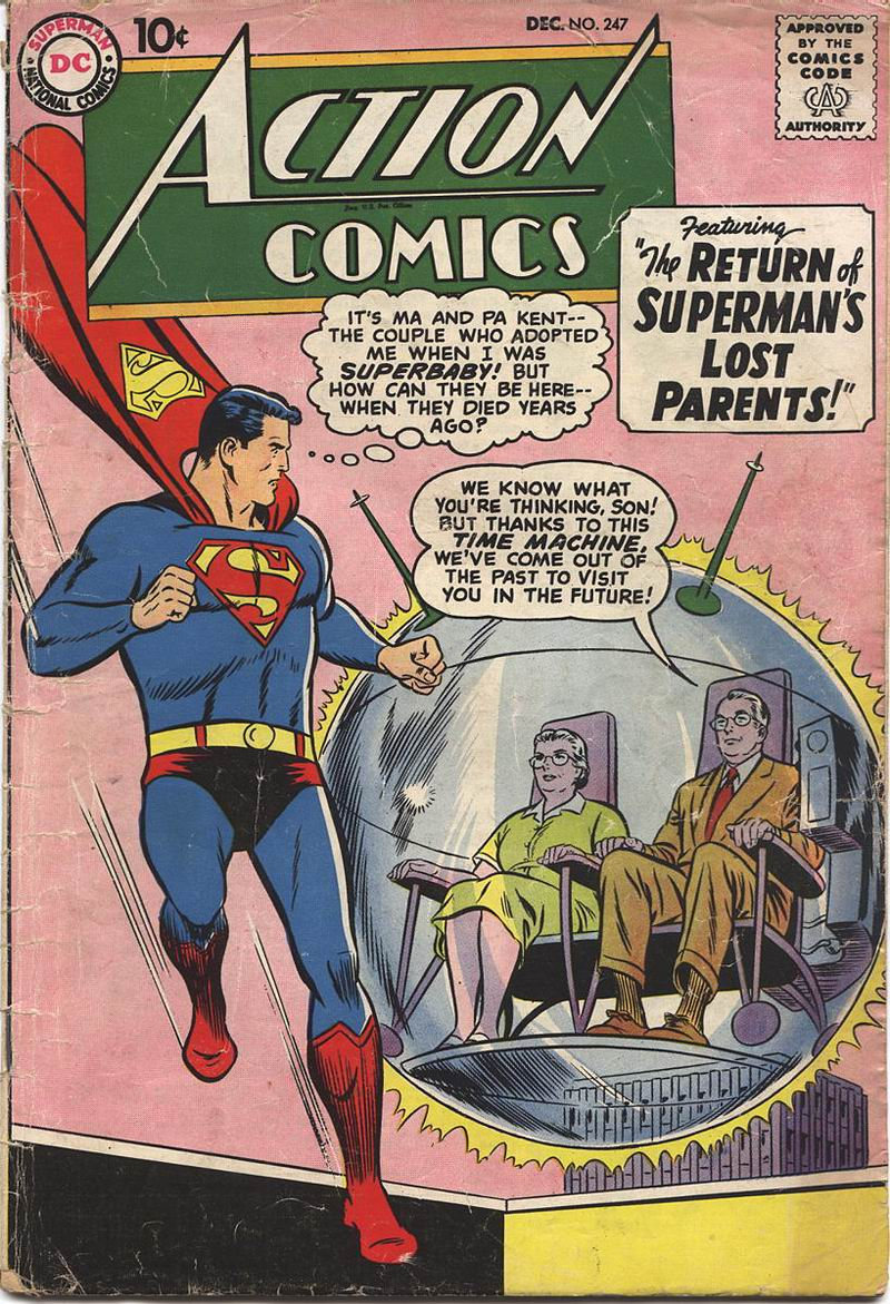 Read online Action Comics (1938) comic -  Issue #247 - 1