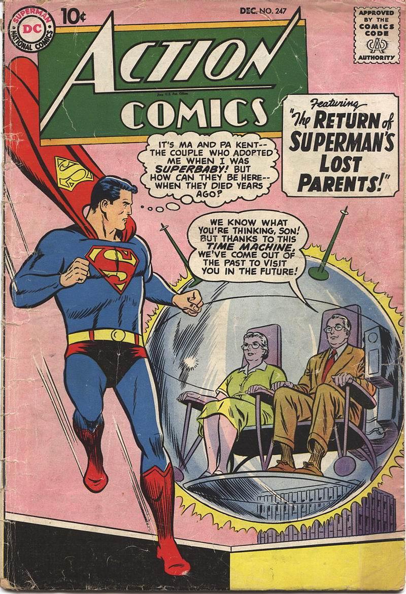 Action Comics (1938) 247 Page 1