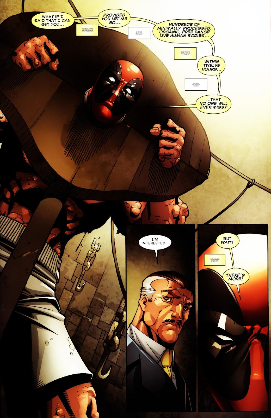 Read online Deadpool (2008) comic -  Issue #5 - 16
