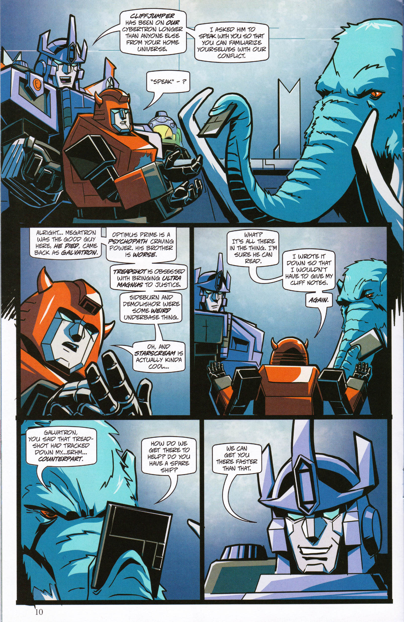 Read online Transformers: Collectors' Club comic -  Issue #61 - 10