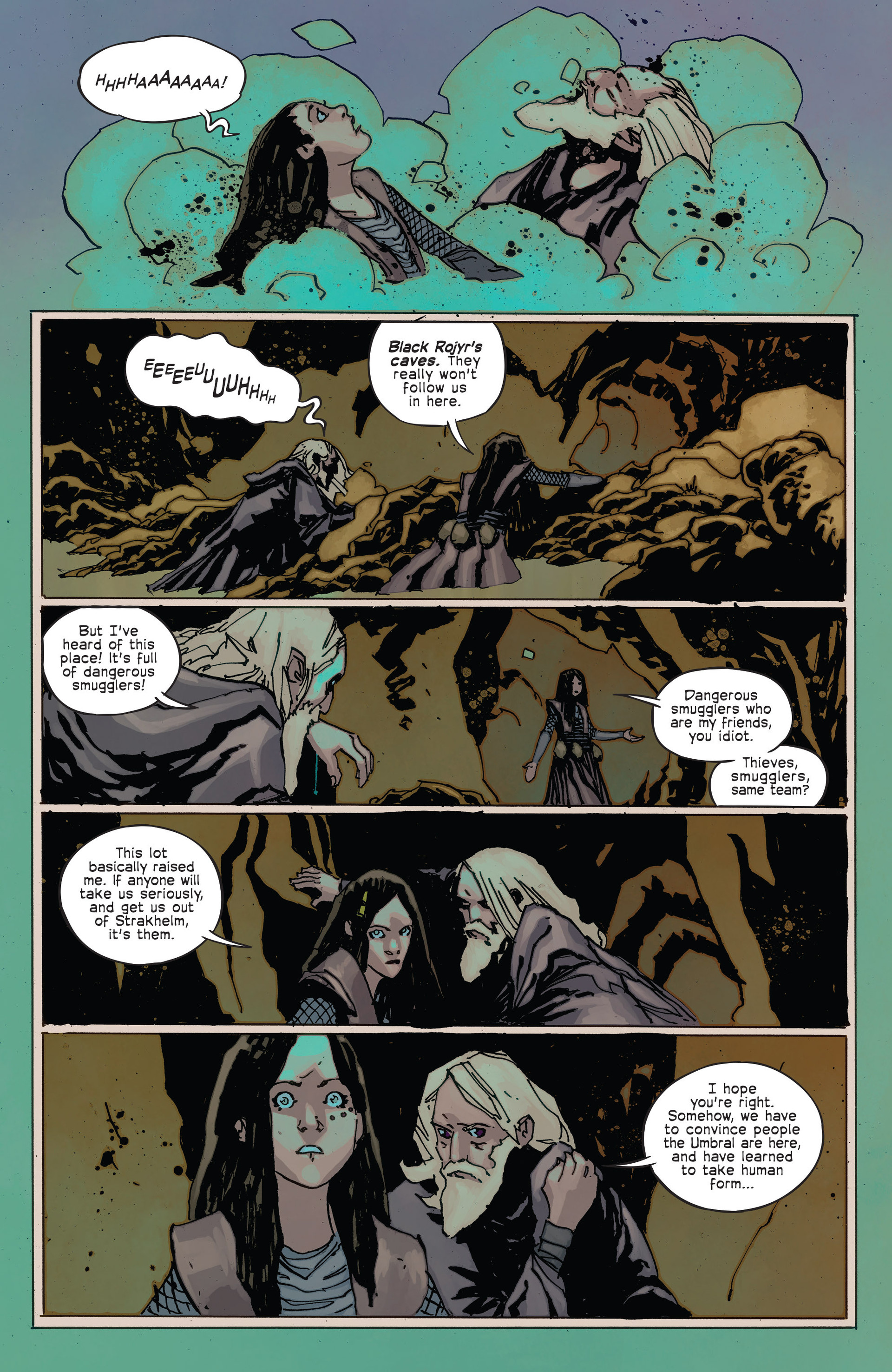 Read online Umbral comic -  Issue #2 - 23